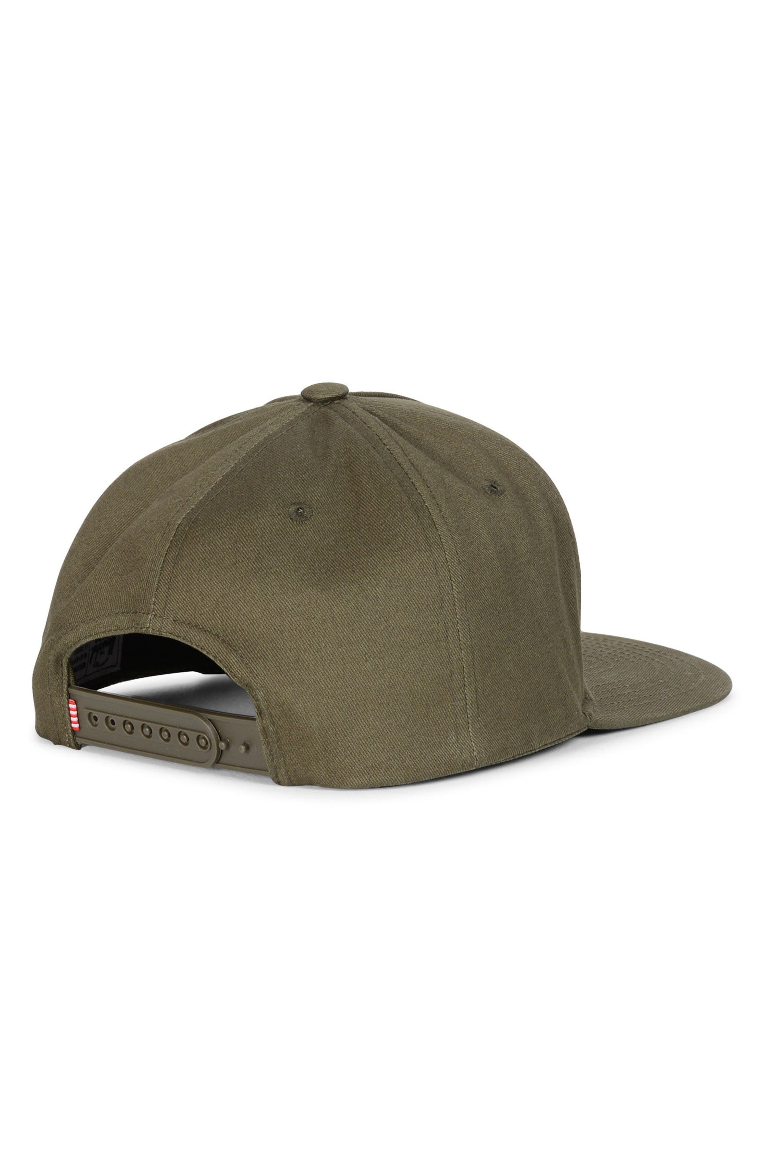 Whaler Snapback Baseball Cap,                             Alternate thumbnail 2, color,                             Army