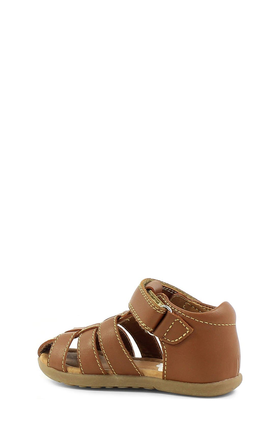 Ryker Sandal,                             Alternate thumbnail 2, color,                             Saddle Tan Leather
