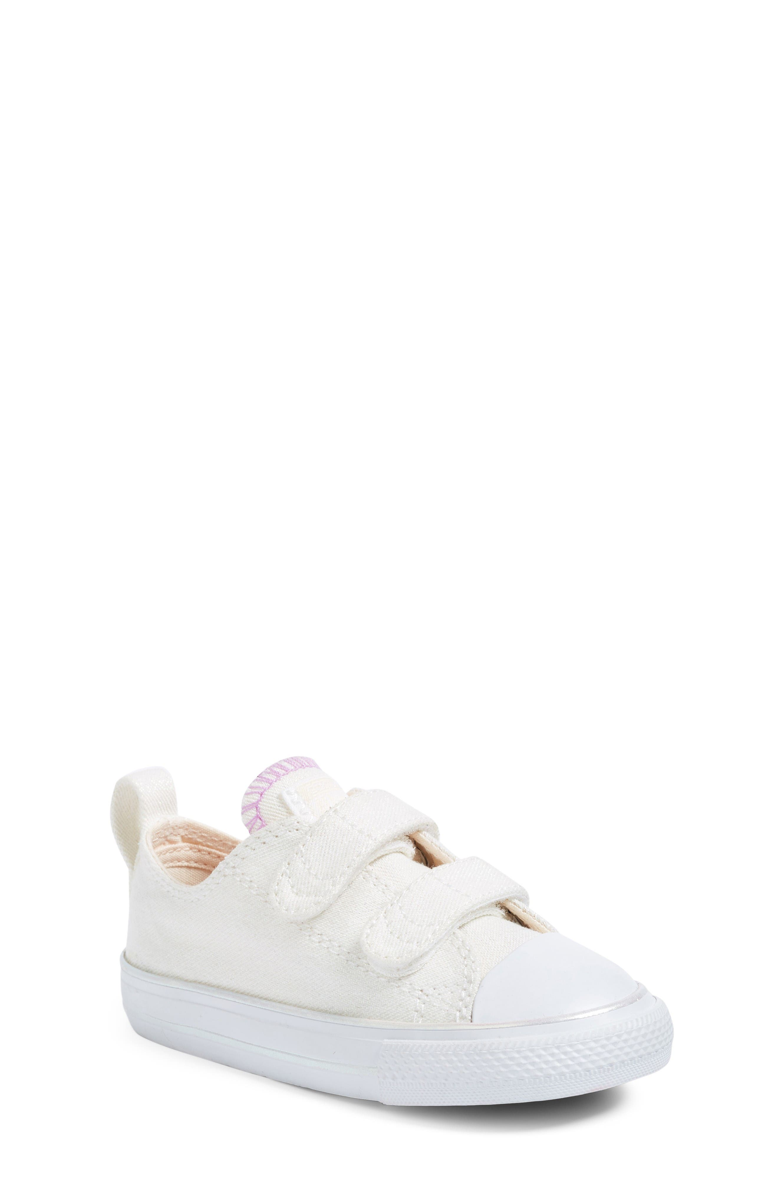 Converse Chuck Taylor® All Star® Sparkling Sneaker (Baby, Walker & Toddler)