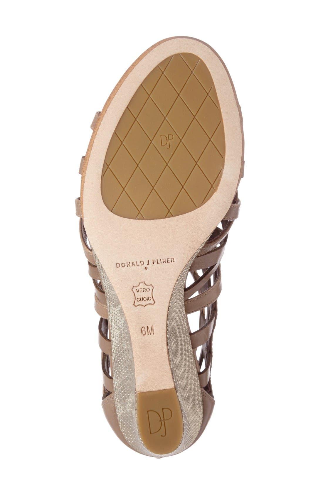 Alternate Image 4  - Donald J Pliner Jordan Wedge Sandal (Women)