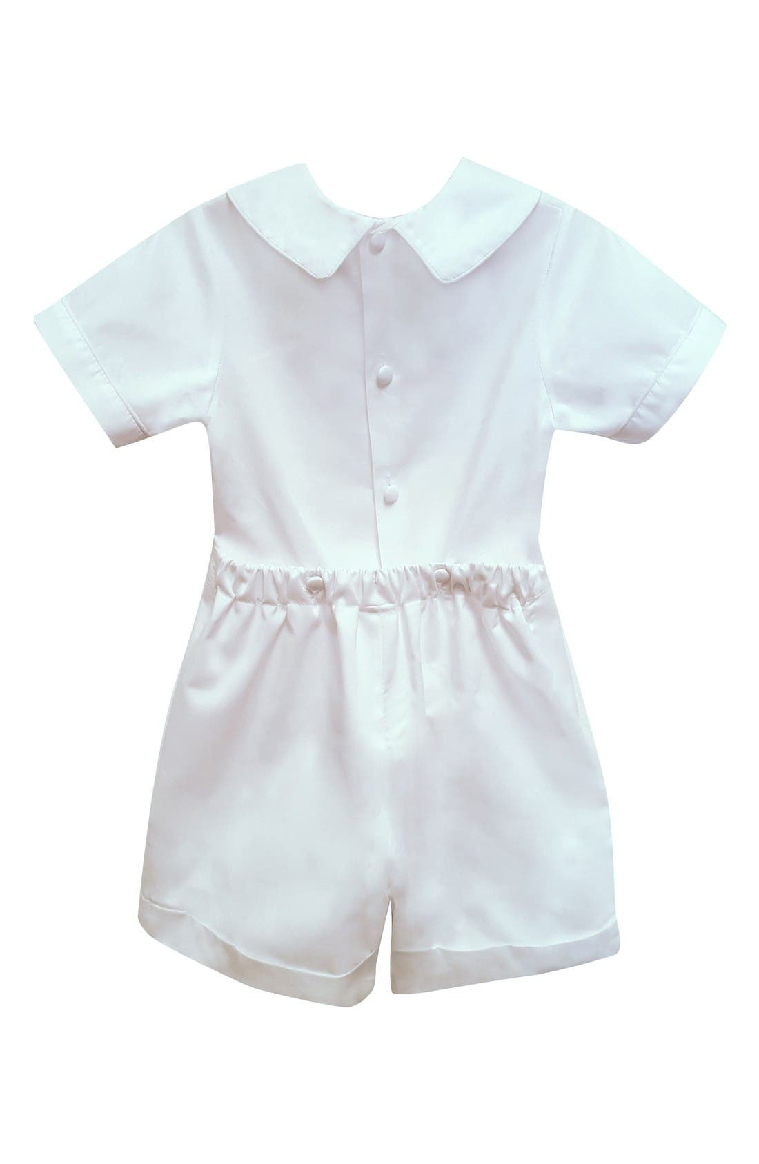 Isabel Garreton Sebastian Silk Shirt & Pants Set (Baby Boys)