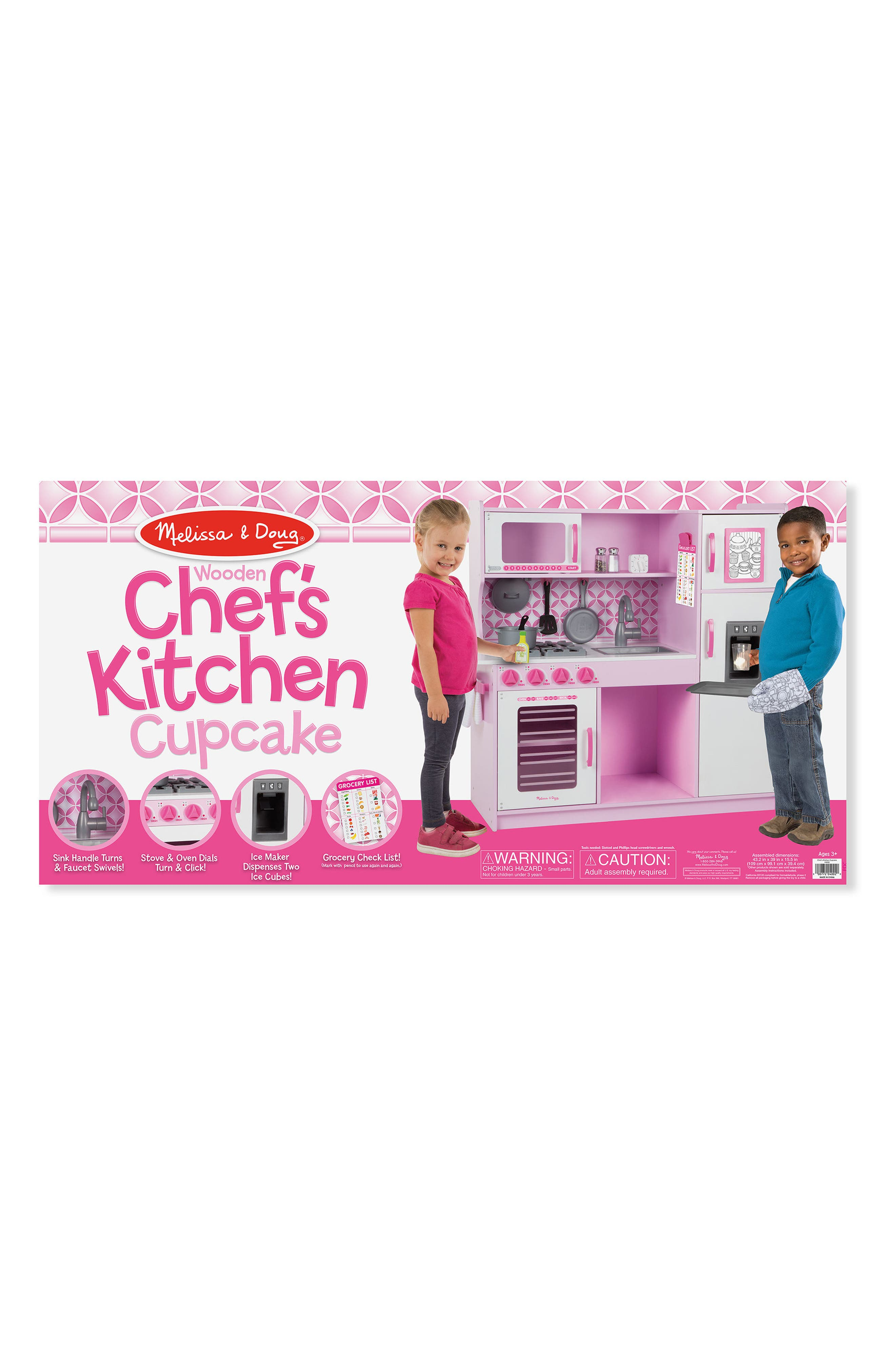 Wooden Chef's Kitchen,                             Alternate thumbnail 3, color,                             Multi