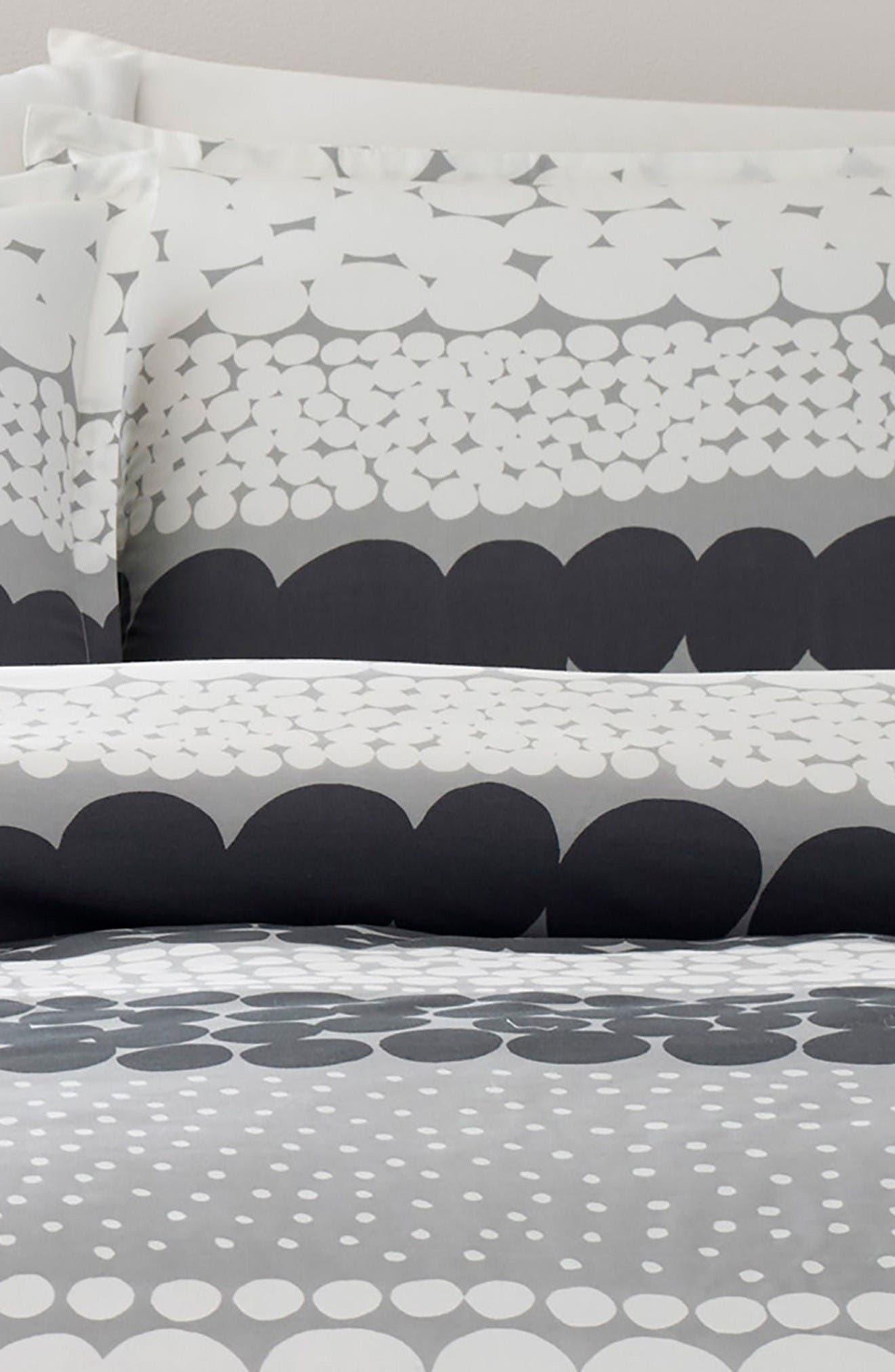 Jurmo Comforter & Sham Set,                             Alternate thumbnail 2, color,                             Dark Grey