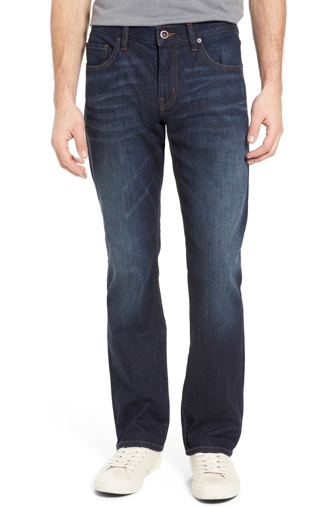 'Duke' Relaxed Fit Jeans,                         Main,                         color, Indigo