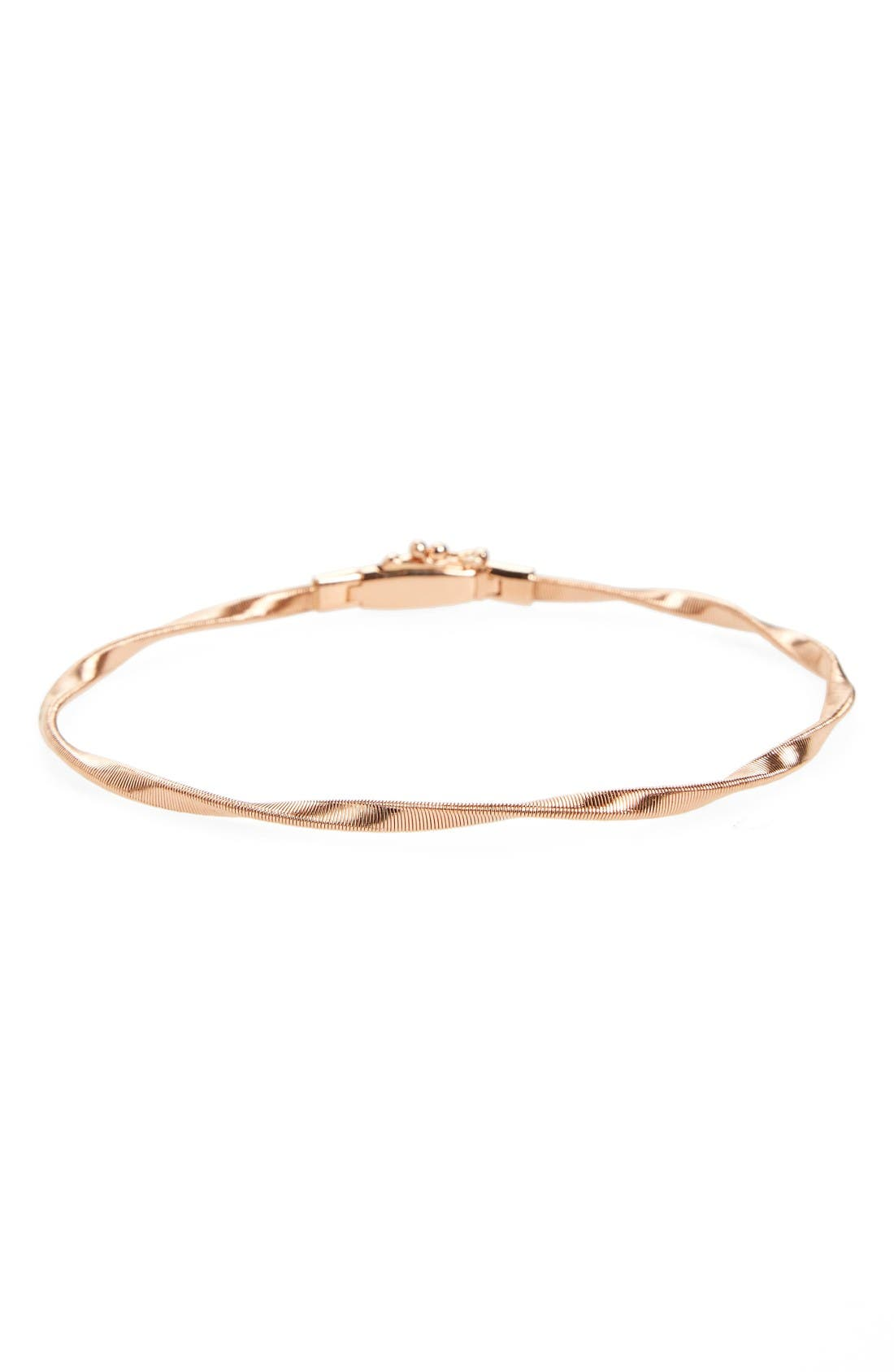 'Marrakech' Single Strand Bracelet,                             Main thumbnail 1, color,                             Rose Gold