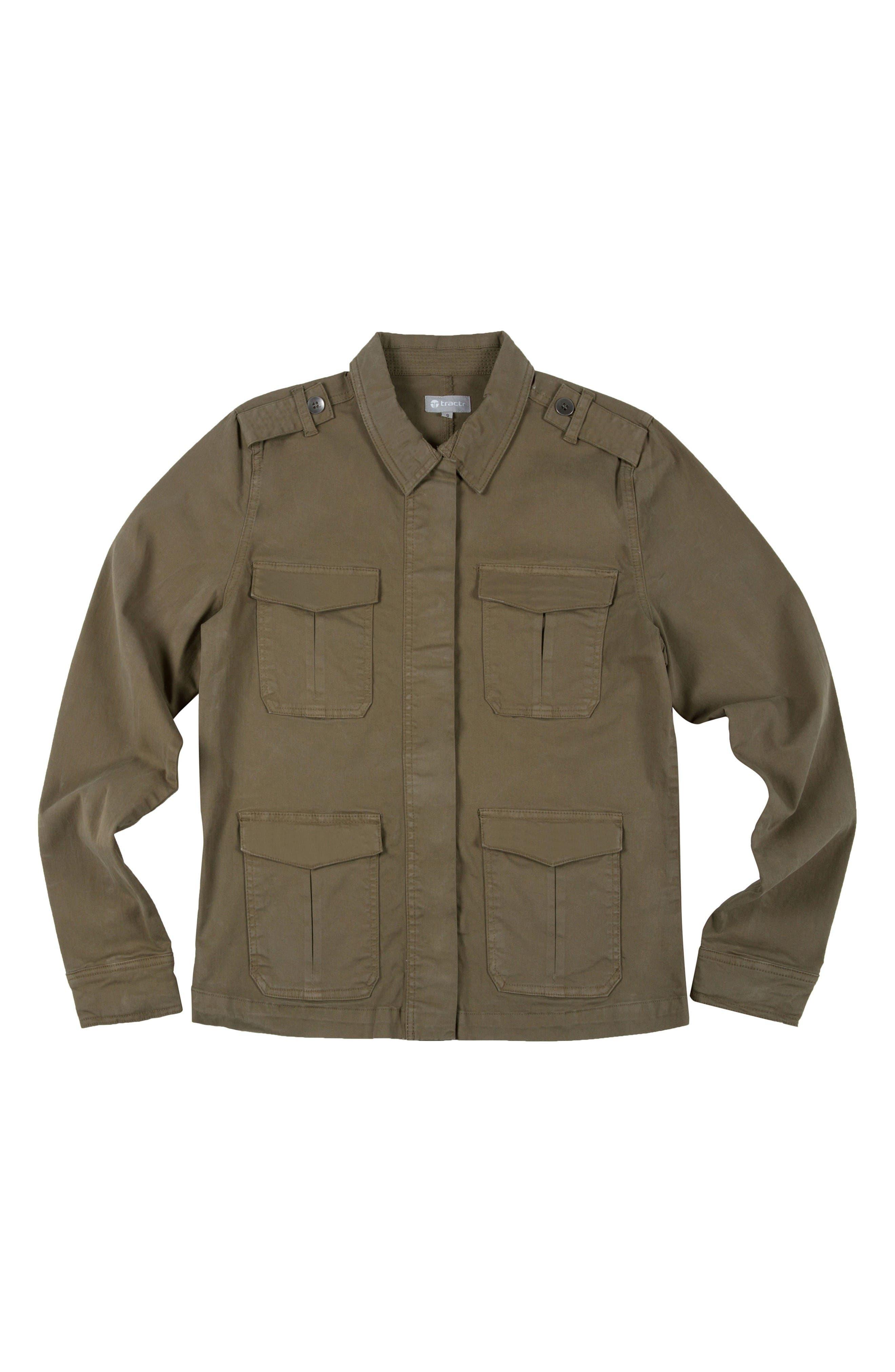 Field Jacket,                         Main,                         color, Green