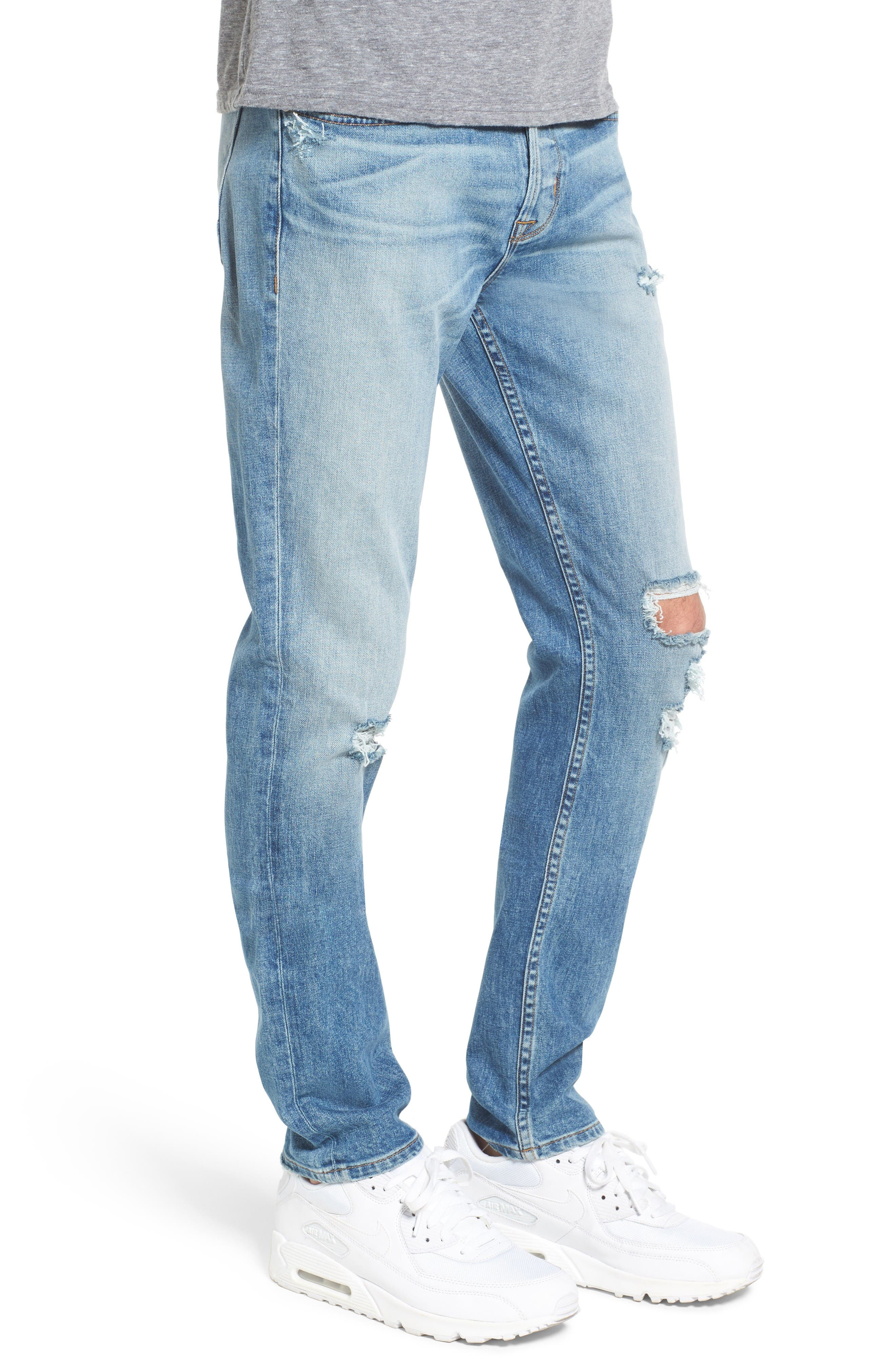 Sator Skinny Fit Jeans,                             Alternate thumbnail 3, color,                             Banned