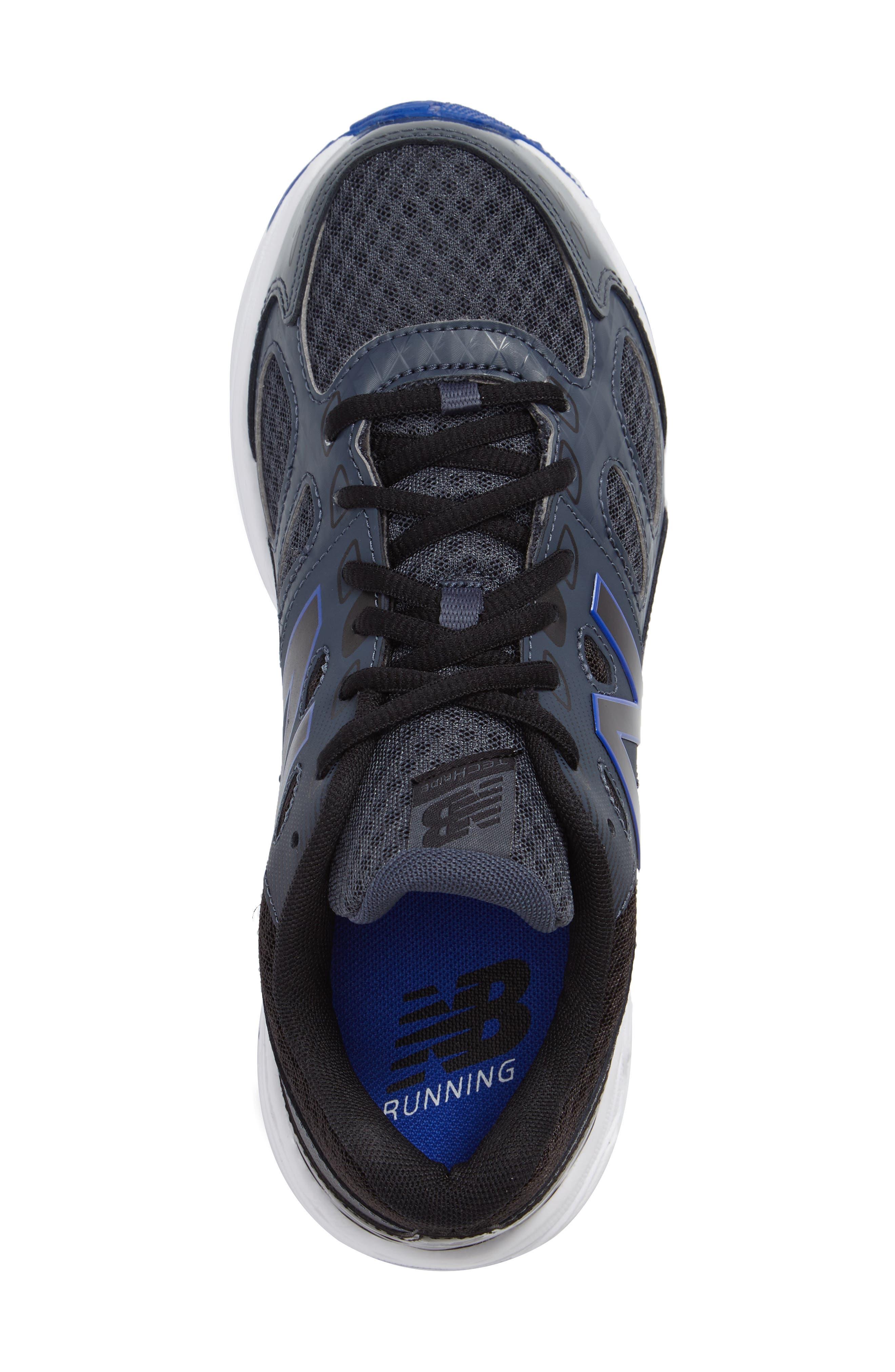 680v3 Sneaker,                             Alternate thumbnail 3, color,                             Grey/Blue