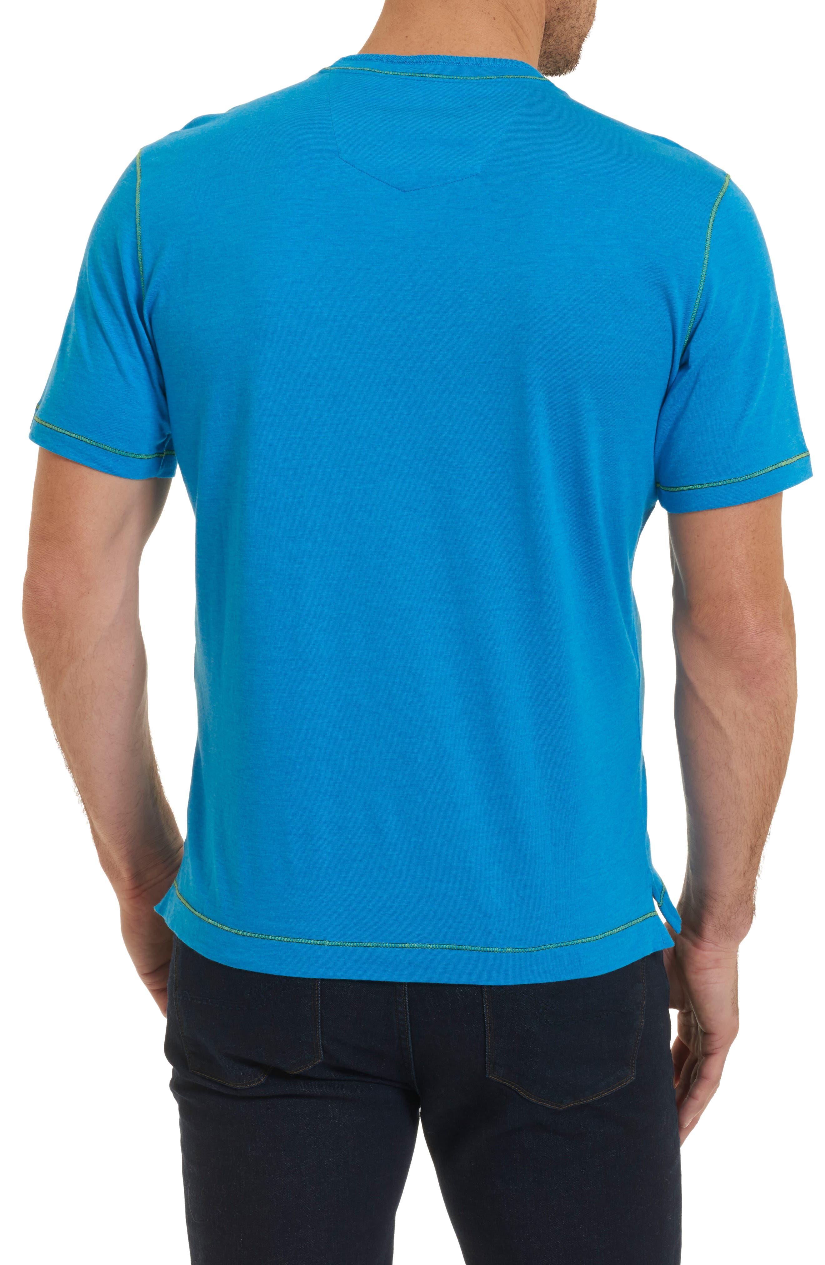 Alternate Image 2  - Robert Graham Traveler V-Neck T-Shirt