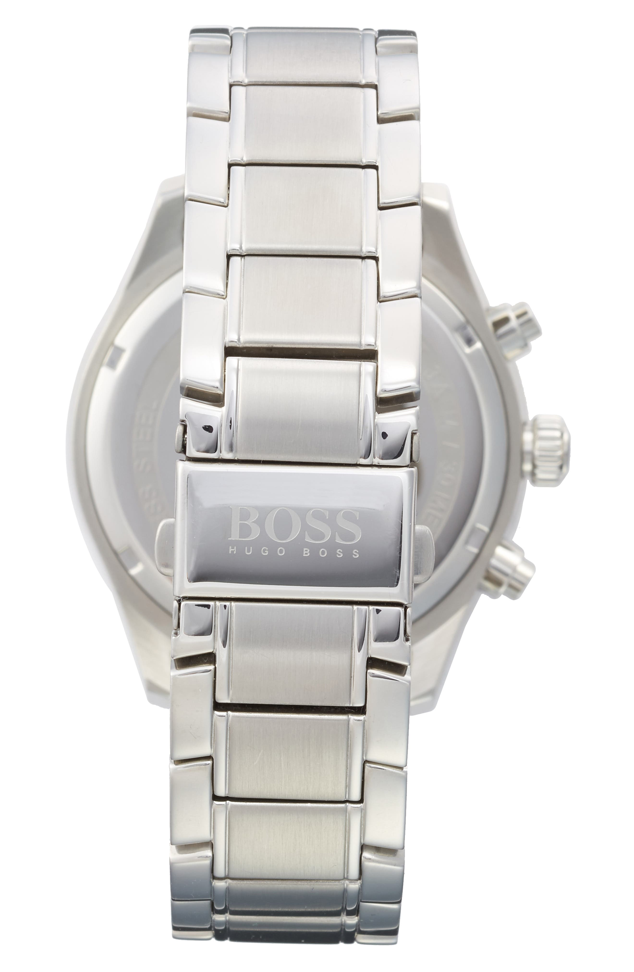 Alternate Image 2  - BOSS Grand Prix Chronograph Bracelet Watch, 44mm
