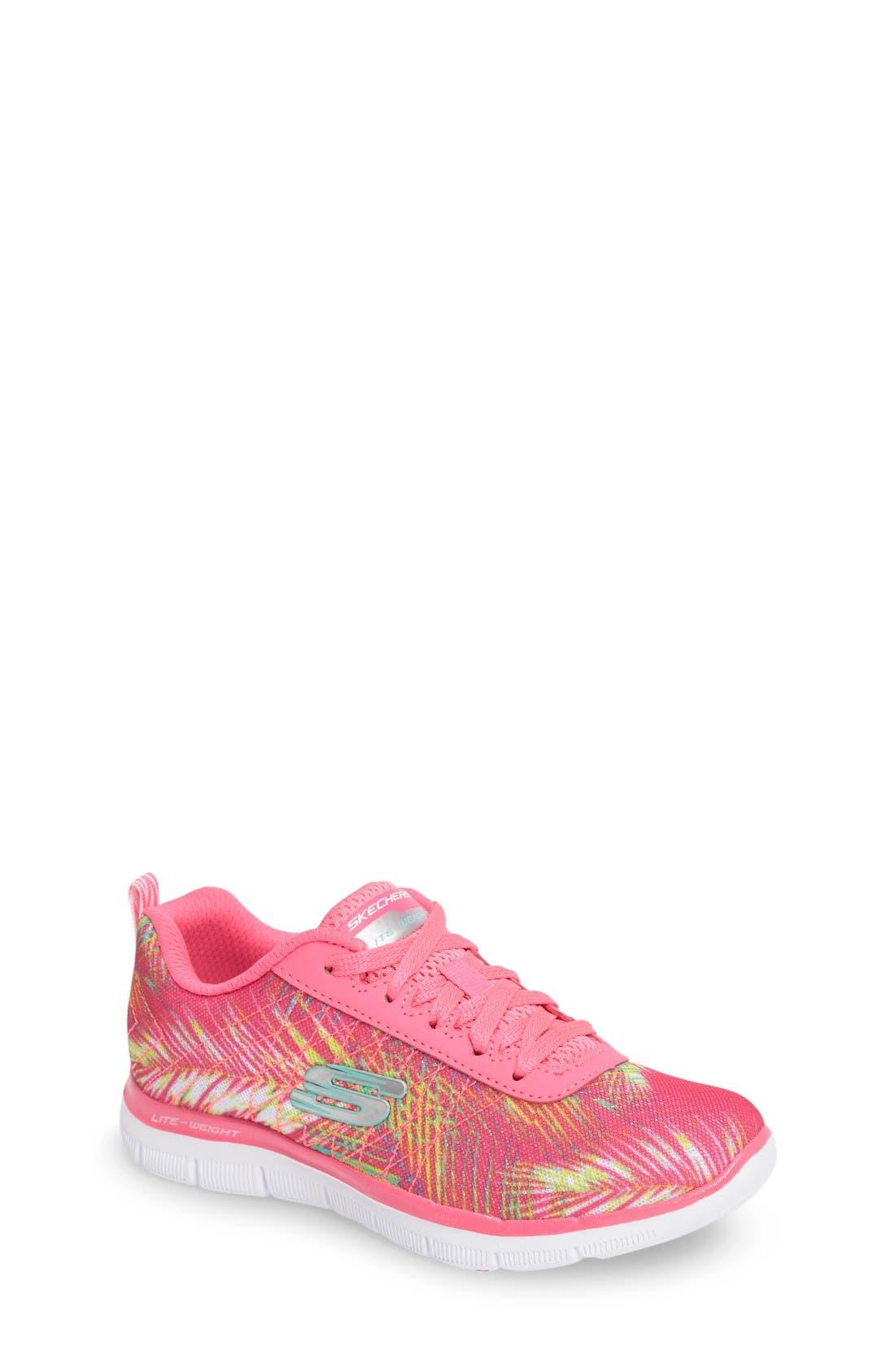 SKECHERS Skech Appeal 2.0 Tropical Breeze Sneaker (Toddler, Little Kid & Big Kid)