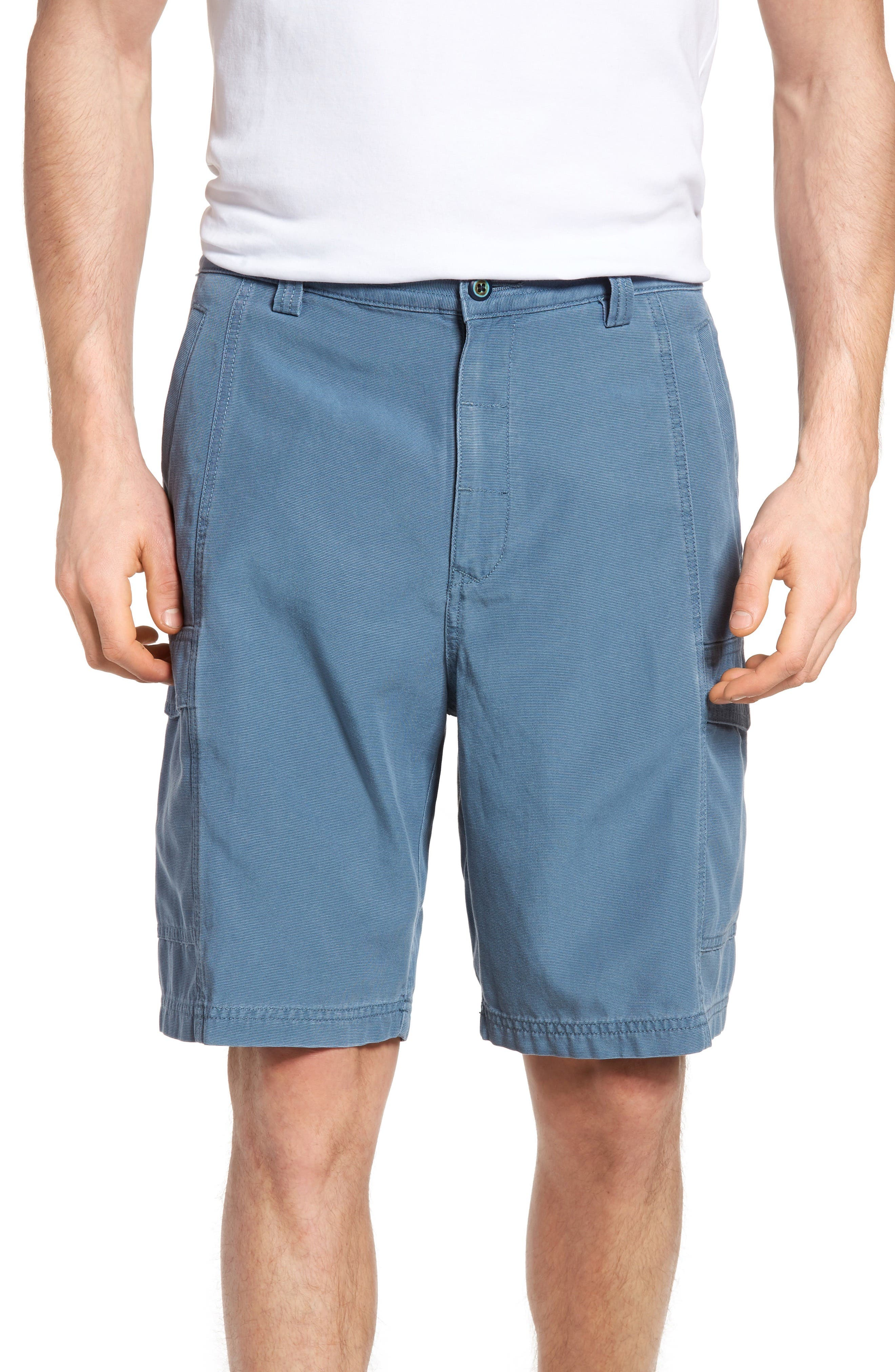 Alternate Image 1 Selected - Tommy Bahama 'Key Grip' Relaxed Fit Cargo Shorts