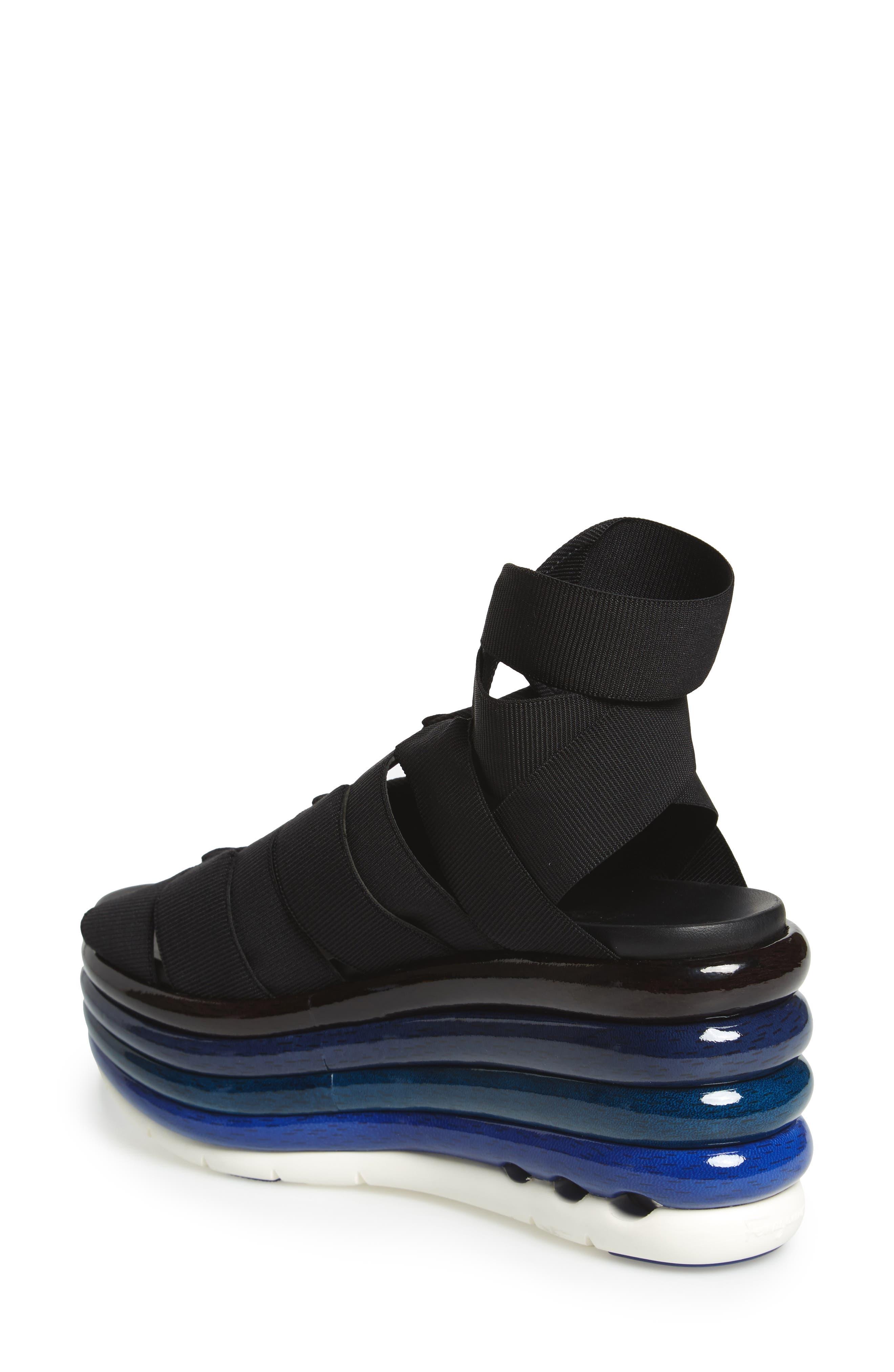 Alternate Image 2  - Salvatore Ferragamo Eiko Rainbow Wedge Sandal (Women)