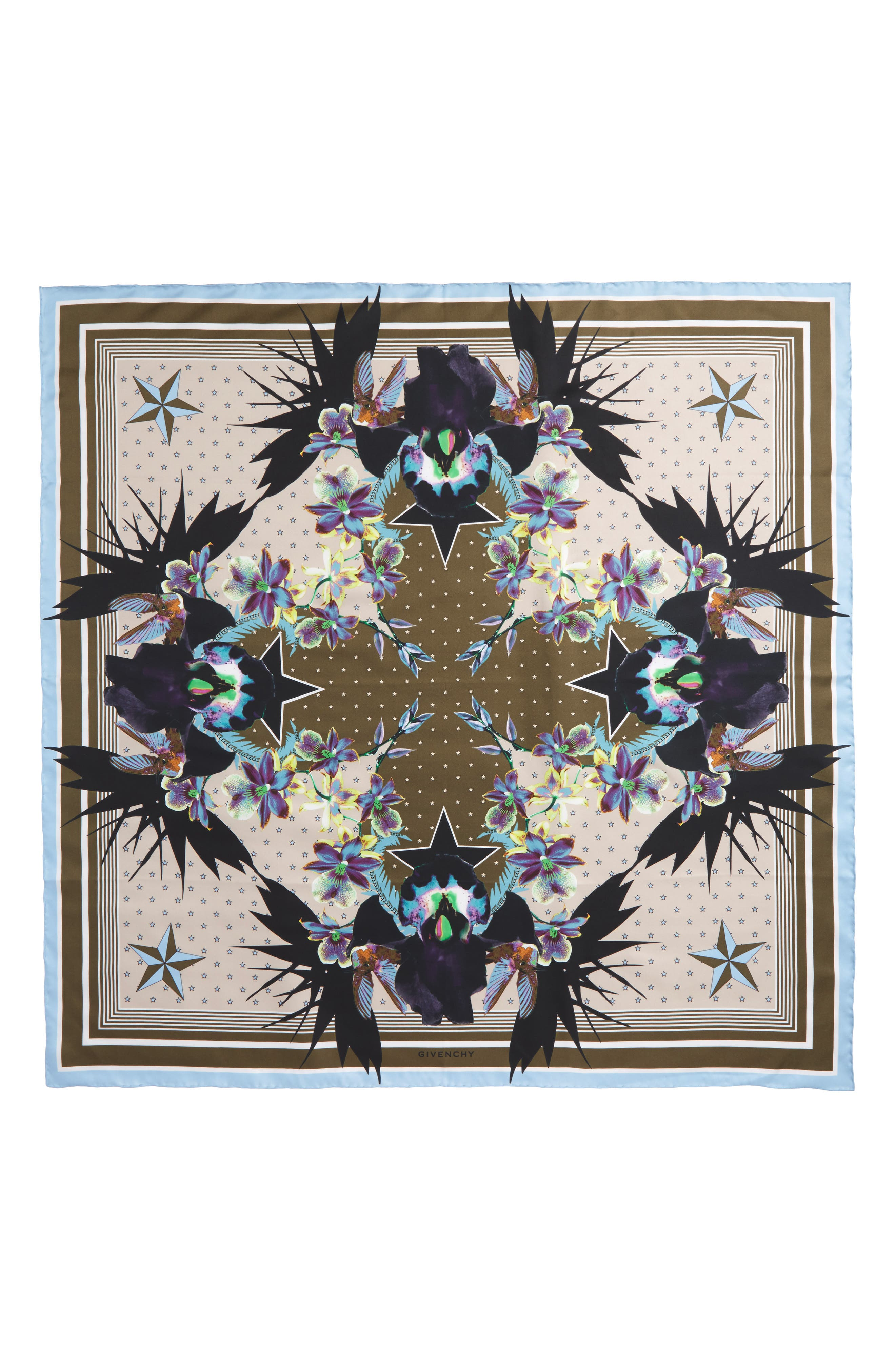 Alternate Image 1 Selected - Givenchy Ultra Paradise Silk Scarf