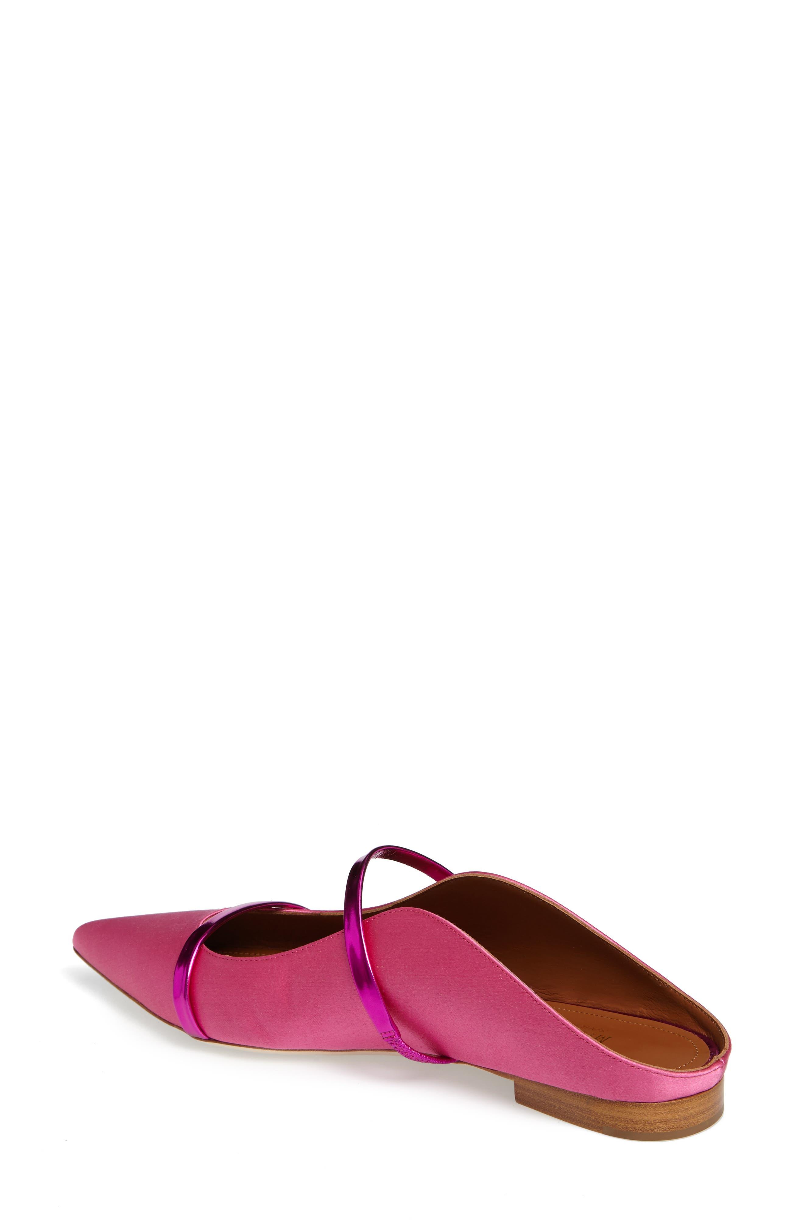 Alternate Image 2  - Malone Souliers Maureen Pointy Toe Flat (Women)