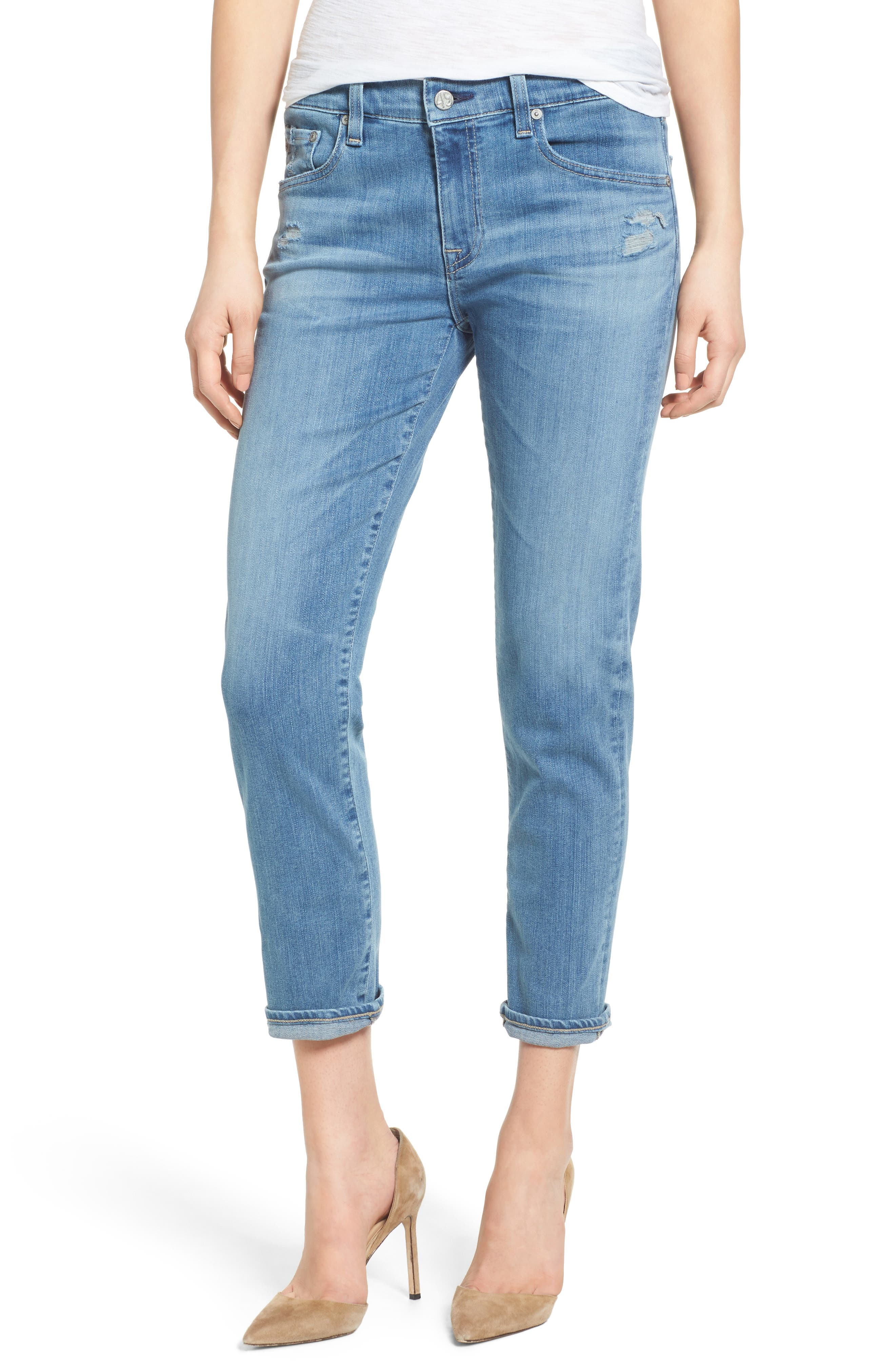 Main Image - AG The Ex-Boyfriend Slim Jeans (16 Years Interlude)