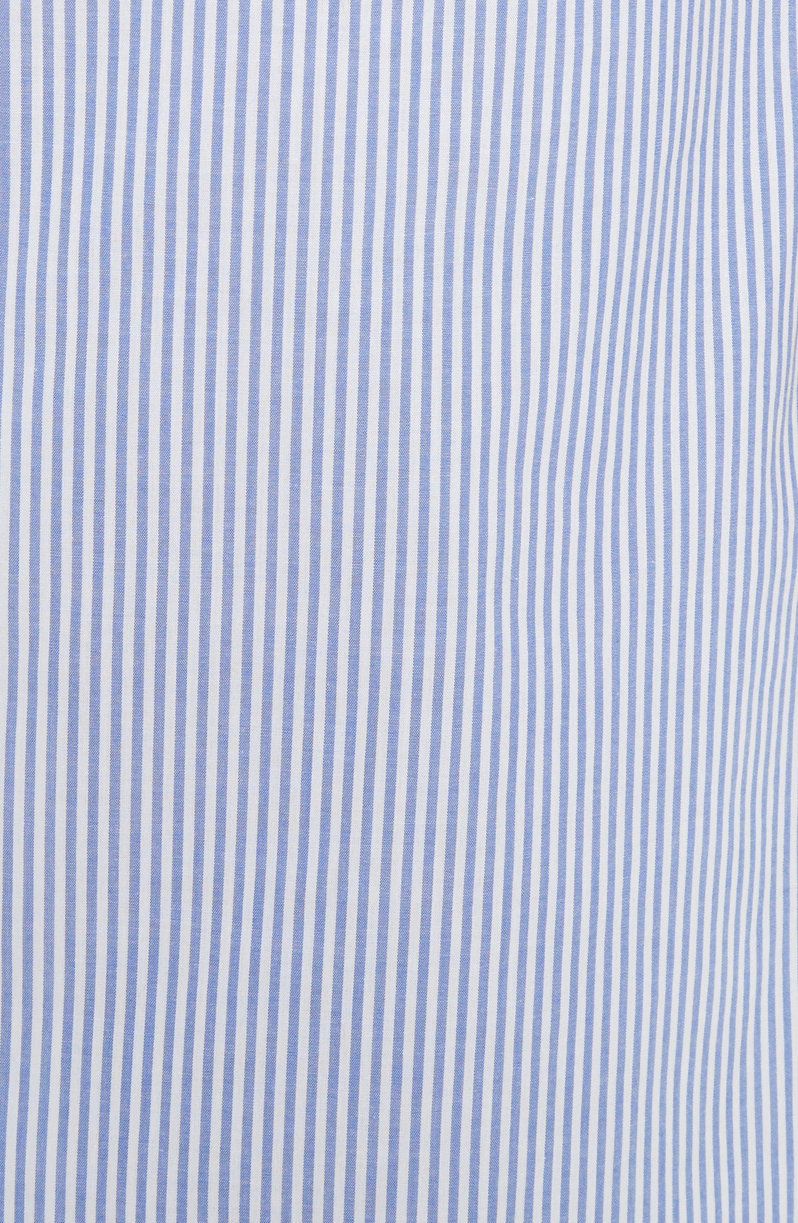 Alternate Image 5  - Tibi Elliot Stripe Side Tie Skirt