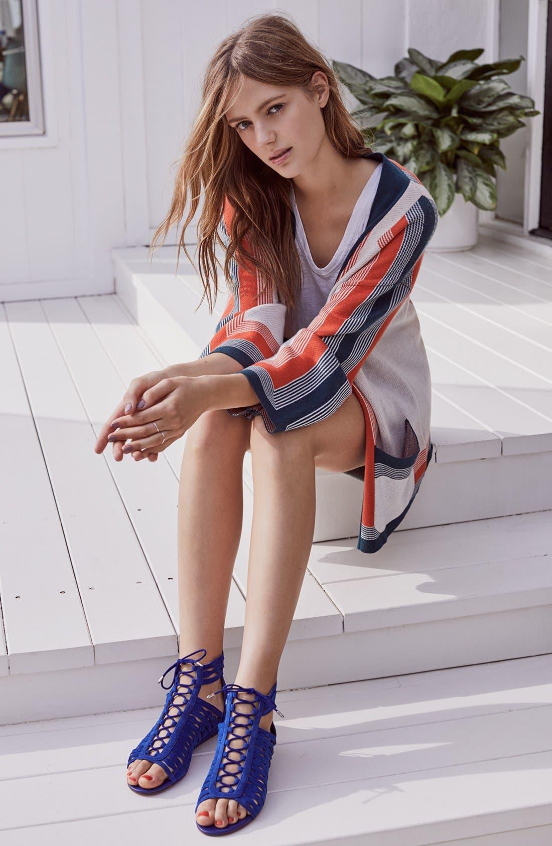 Alternate Image 5  - Sam Edelman Daleece Lace-Up Sandal (Women)