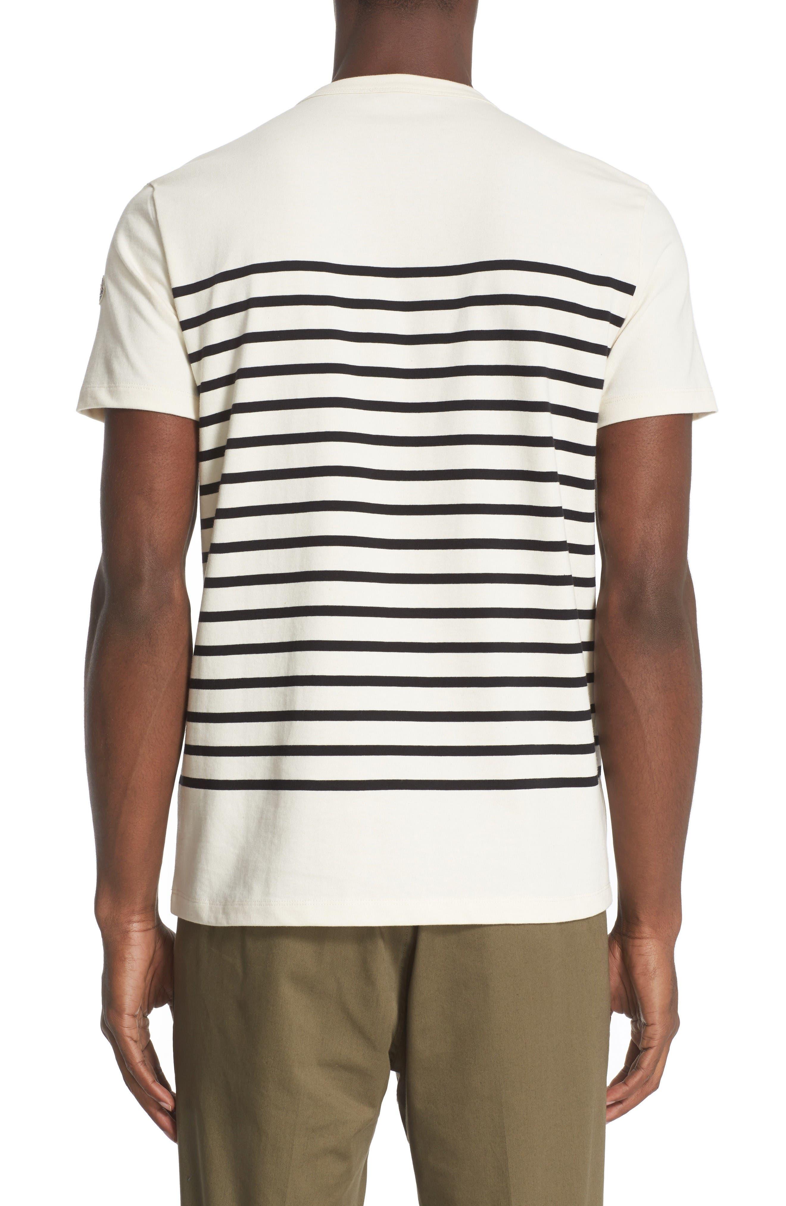 Alternate Image 2  - Moncler Stripe Graphic T-Shirt