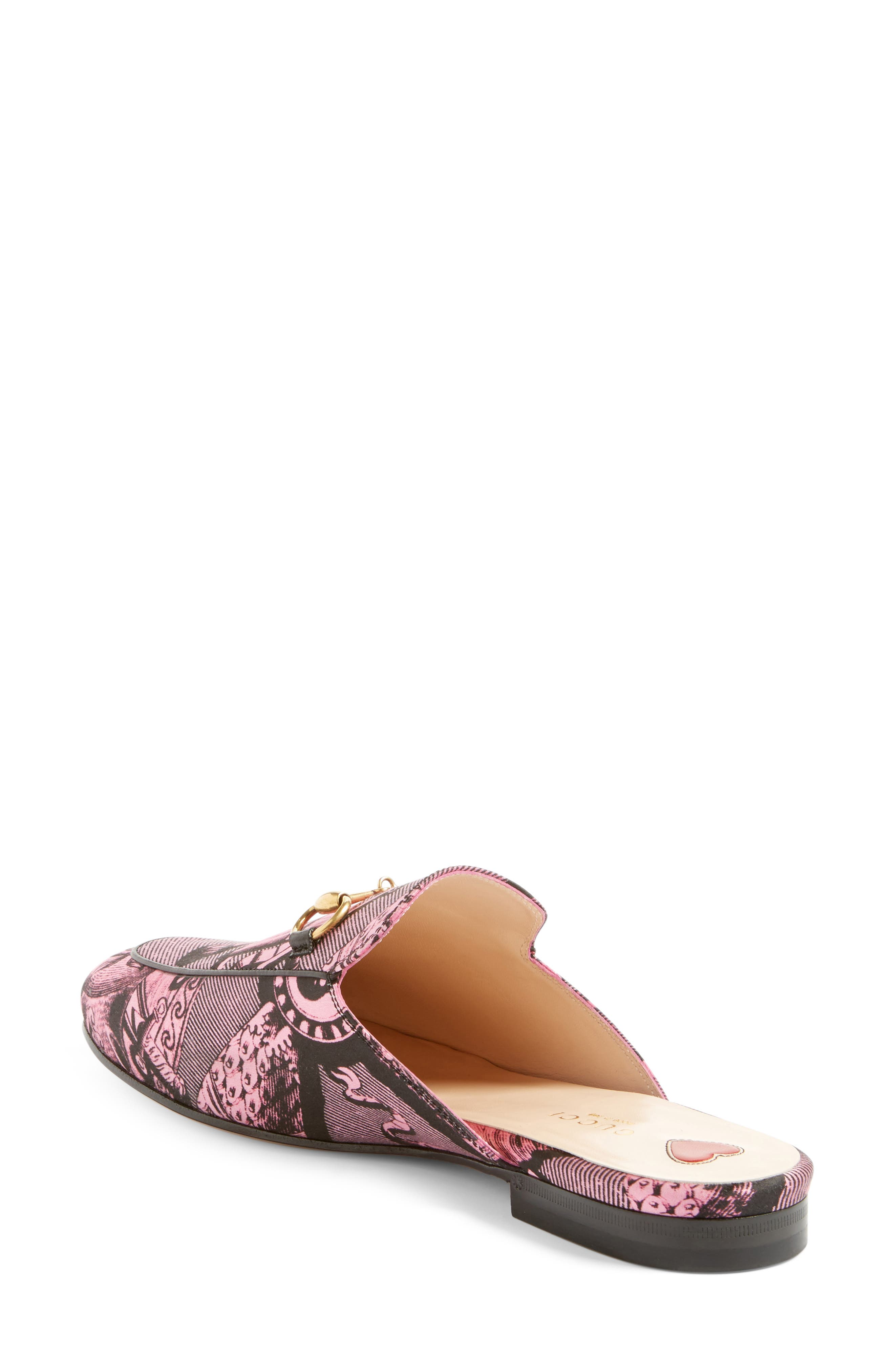 Princetown Loafer Mule,                             Alternate thumbnail 2, color,                             Pink Multi