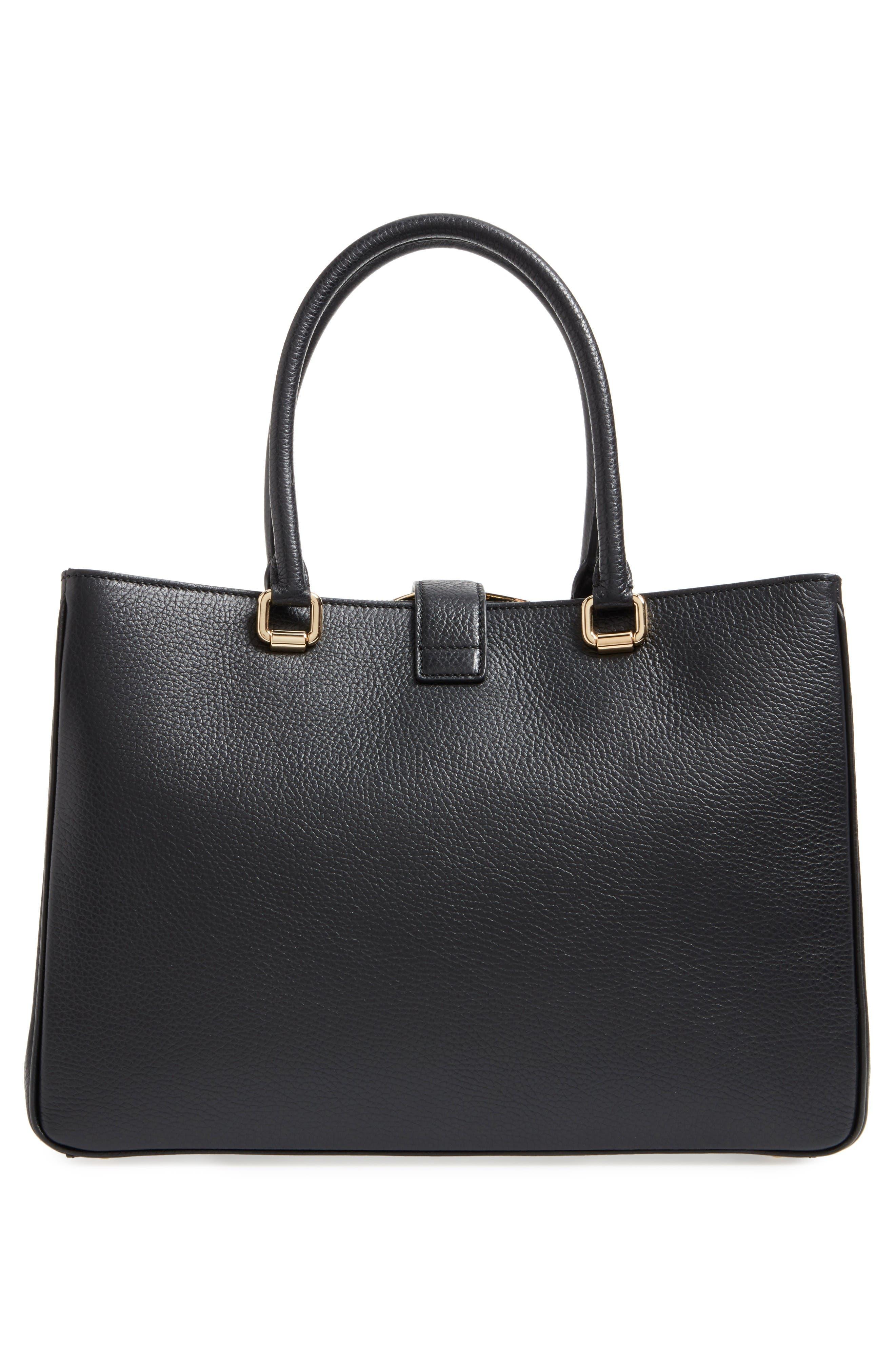 Alternate Image 3  - Dolce&Gabbana Grained Leather Shopper