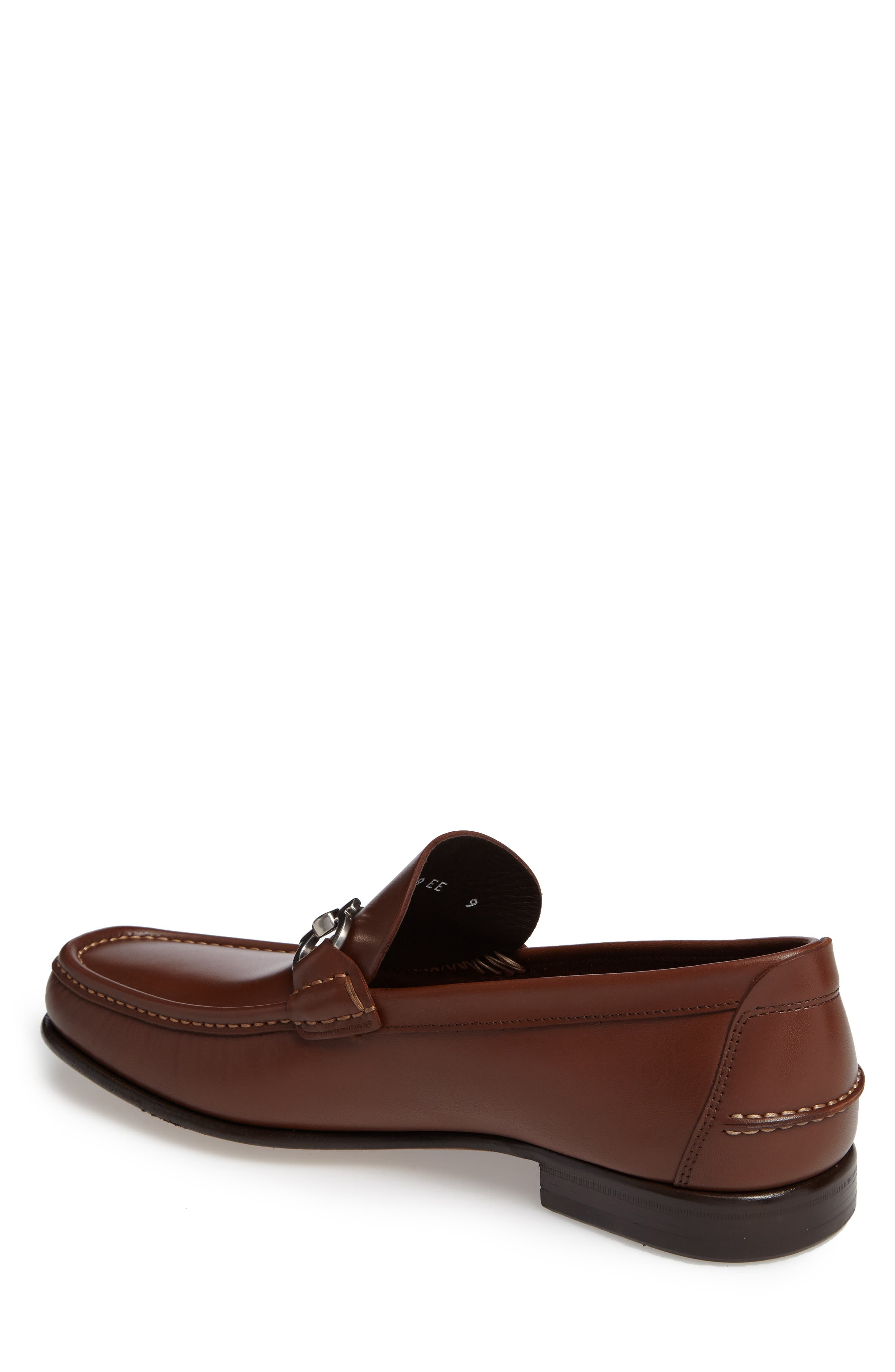 Bit Loafer,                             Alternate thumbnail 2, color,                             Brown Leather