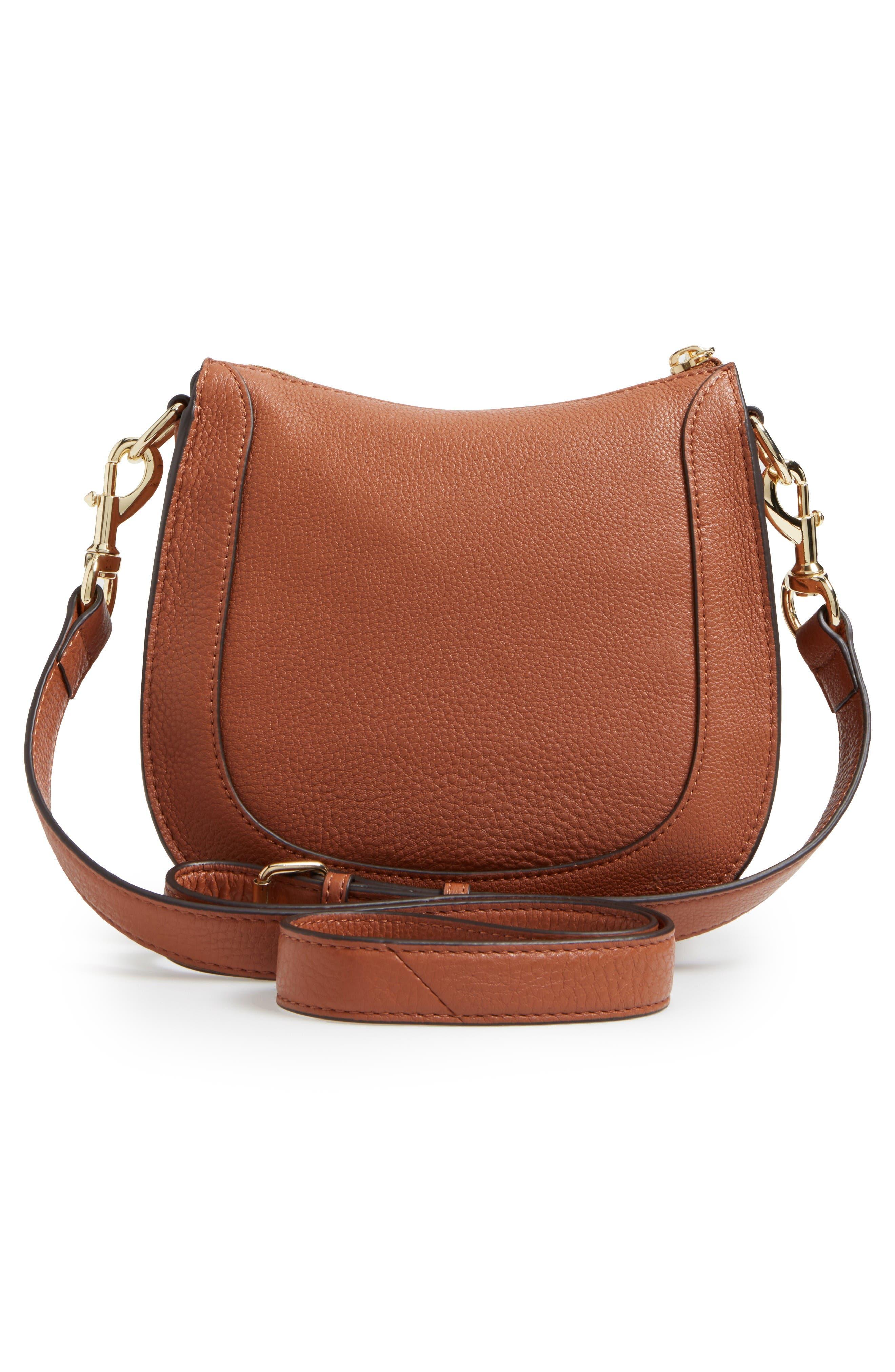 Alternate Image 3  - Rebecca Minkoff Dog Clip Leather & Suede Saddle Bag (Nordstrom Exclusive)