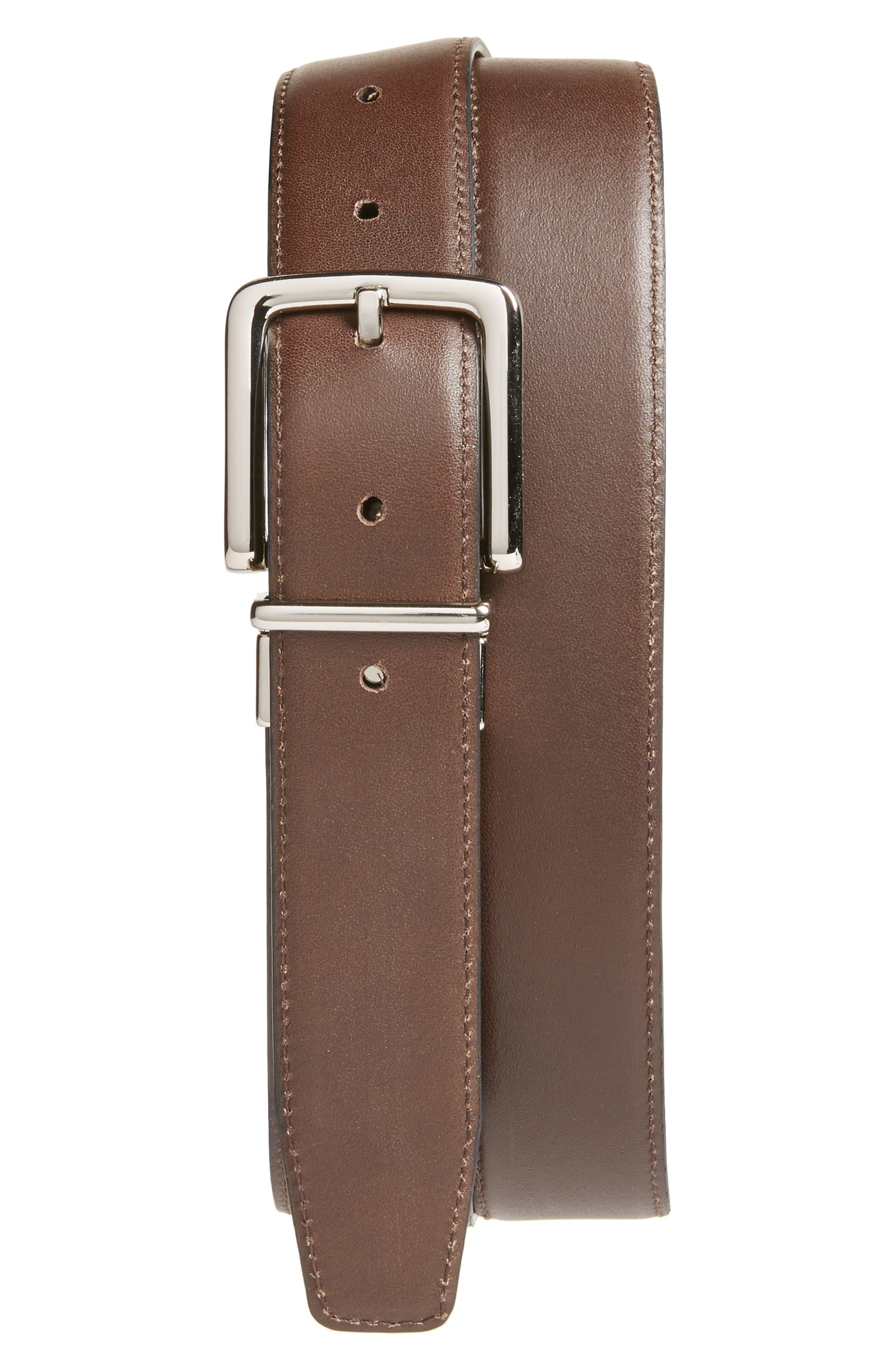 Alternate Image 2  - Cole Haan Reversible Leather Belt