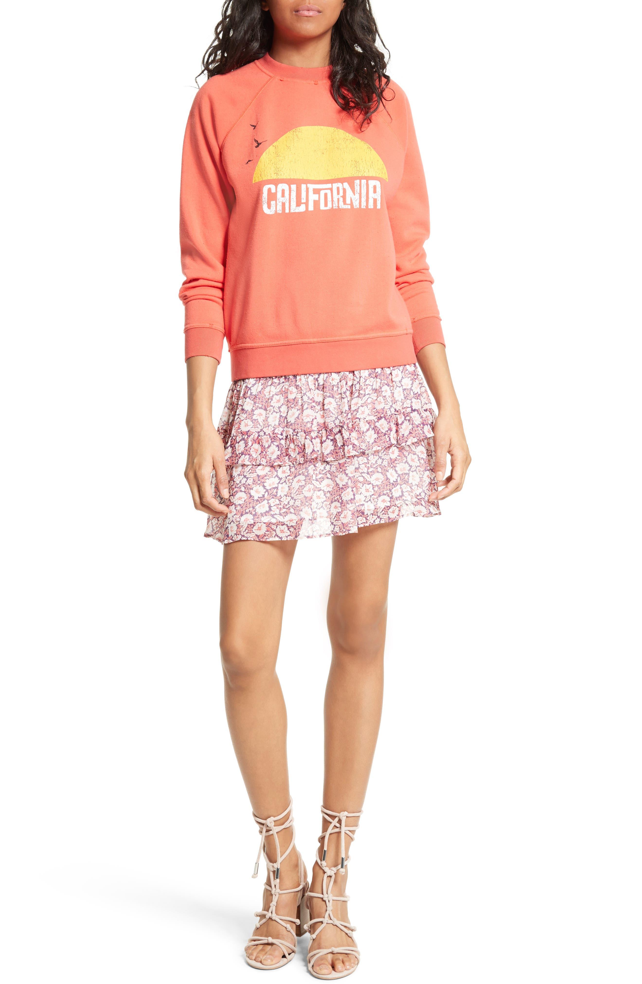 Alternate Image 7  - Rebecca Minkoff California Sunset Sweatshirt