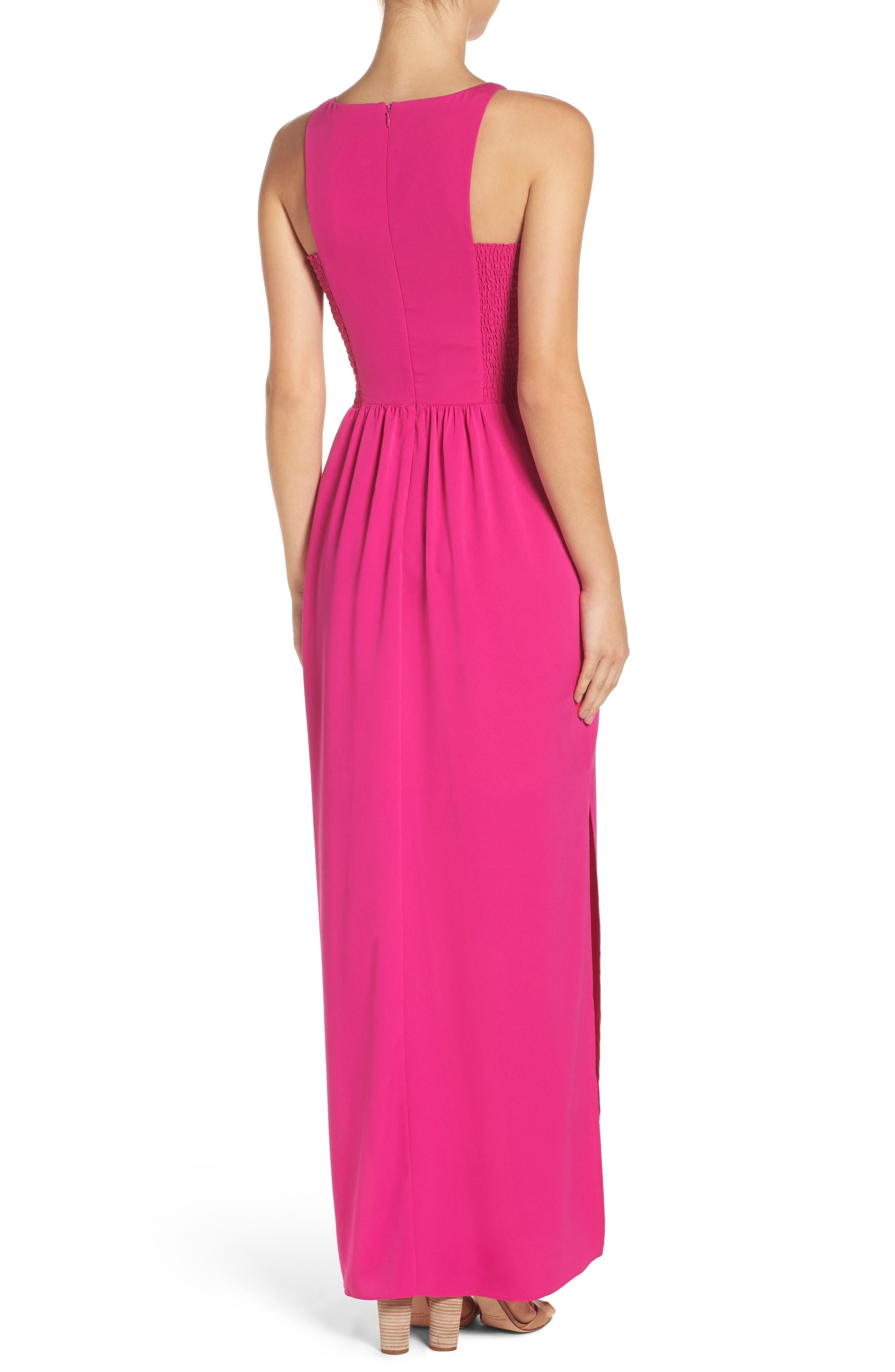 Alternate Image 2  - Chelsea28 Cutaway Shoulder Maxi Dress