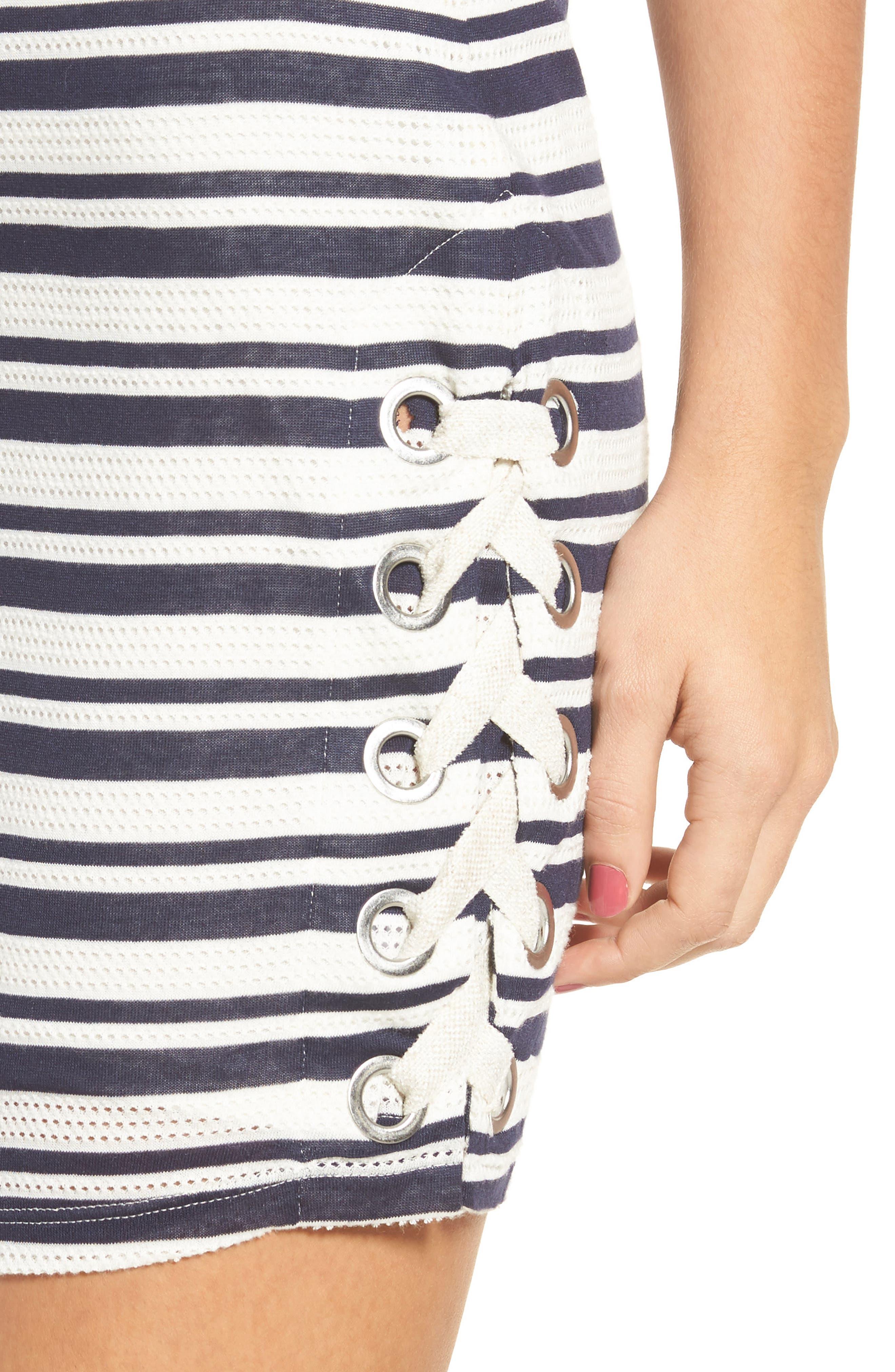 Alternate Image 4  - Splendid Topsail Stripe Body-Con Dress