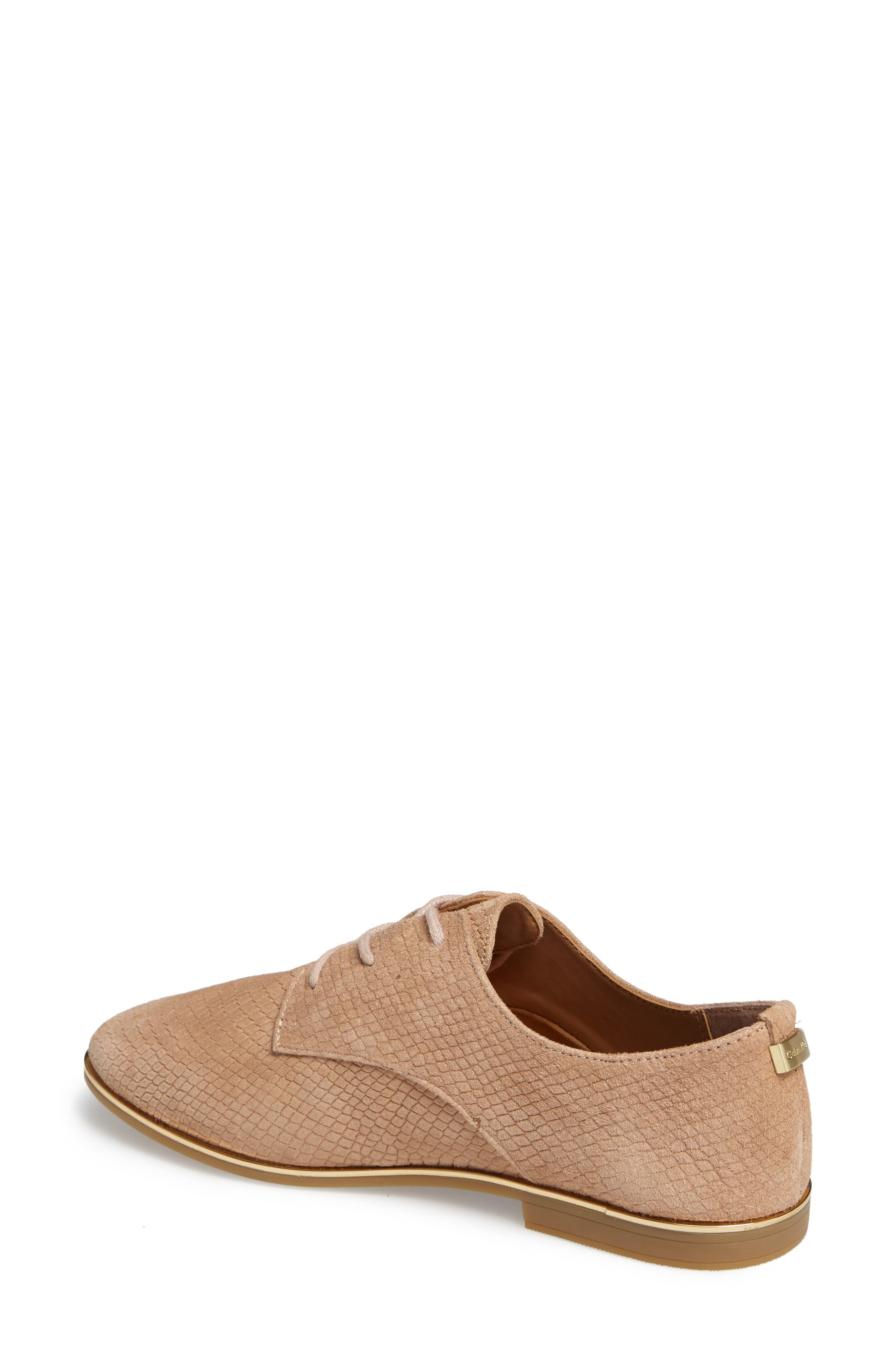 Cory Textured Oxford,                             Alternate thumbnail 2, color,                             Cocoon/ Warm Gold Nubuck