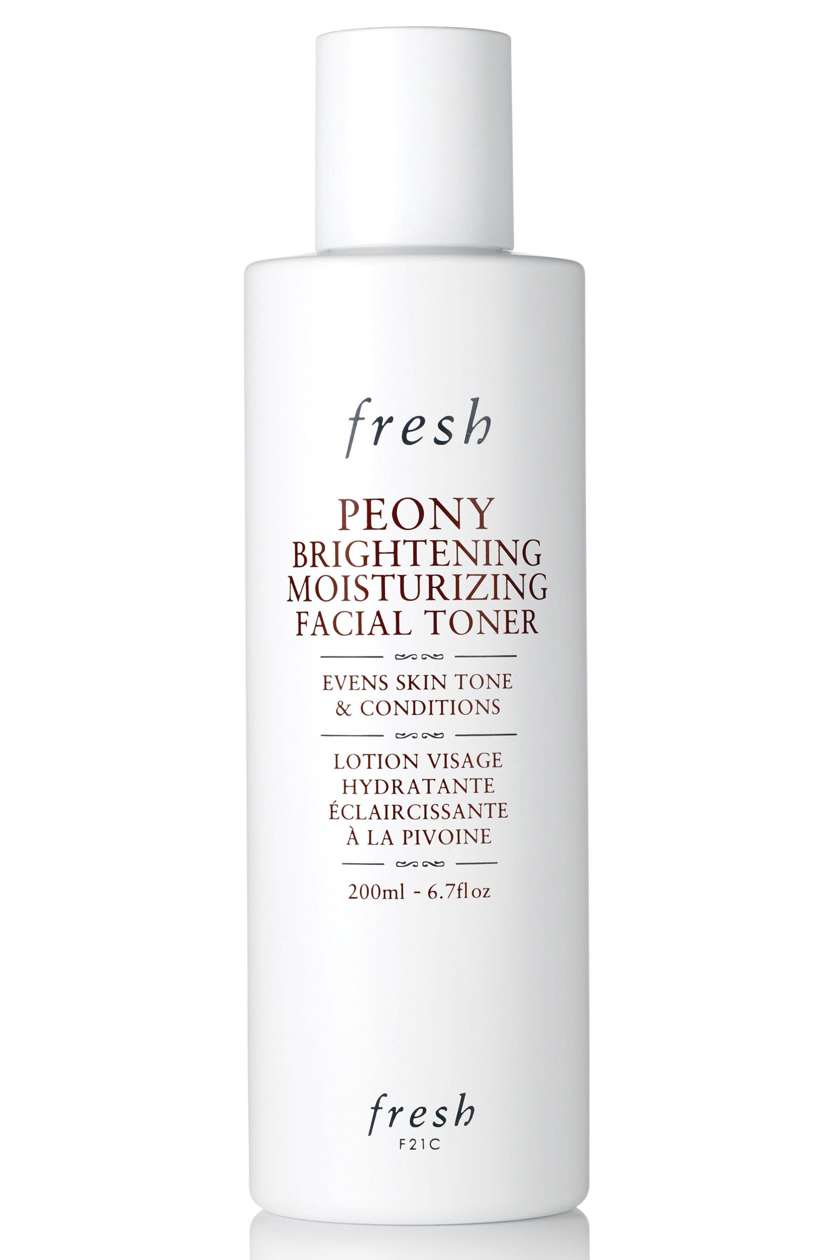 Main Image - Fresh® Peony Brightening Moisturizing Facial Toner