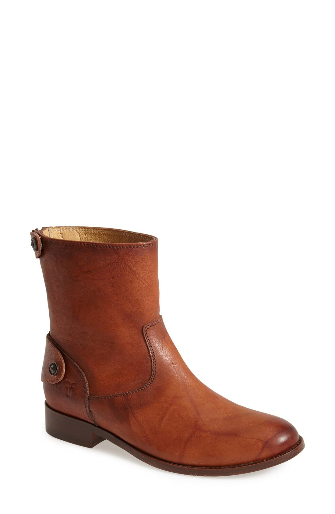 Main Image - Frye 'Melissa Button' Zip Short Boot (Women)