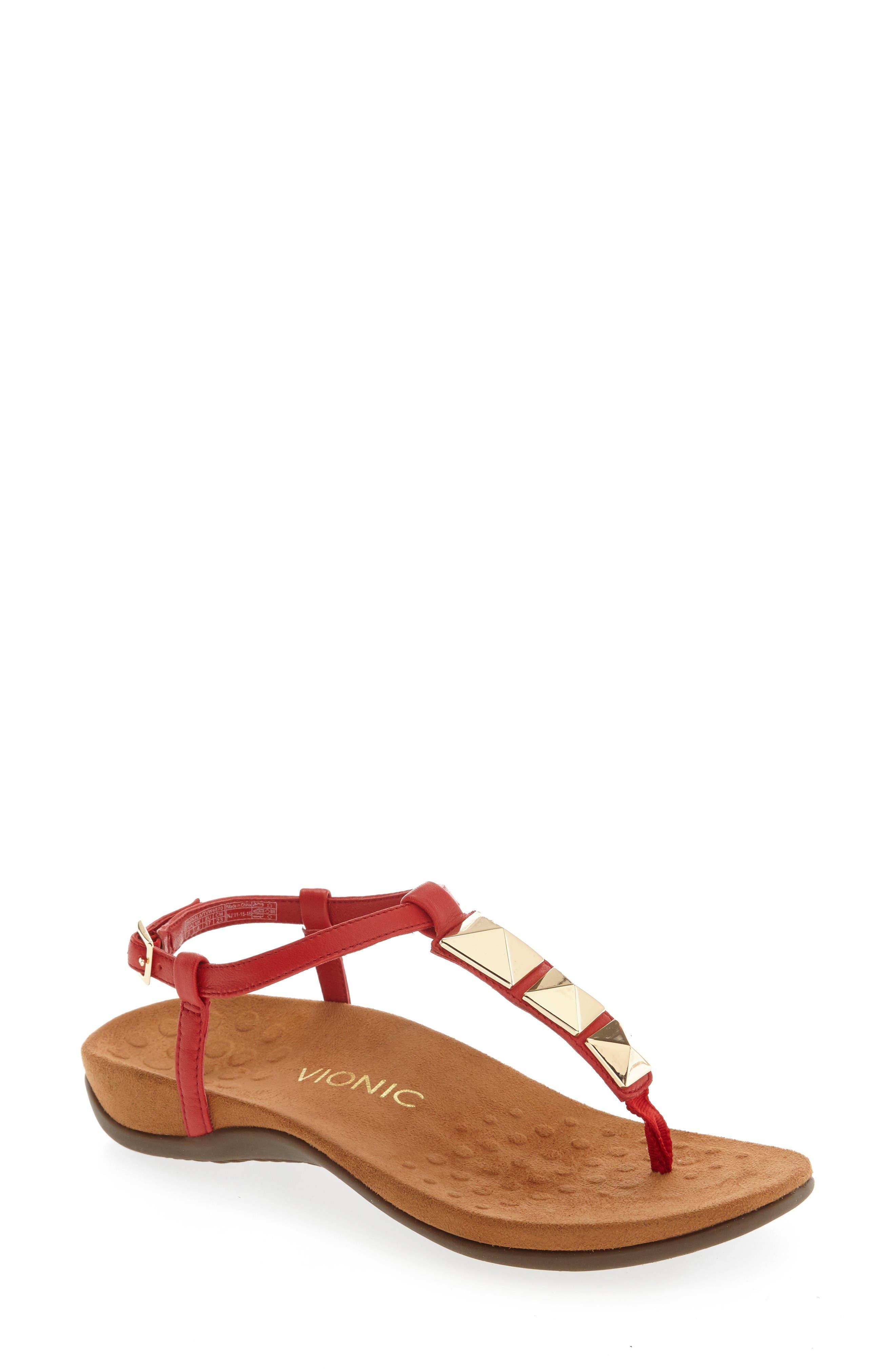 Alternate Image 1 Selected - Vionic Nala T-Strap Sandal (Women)