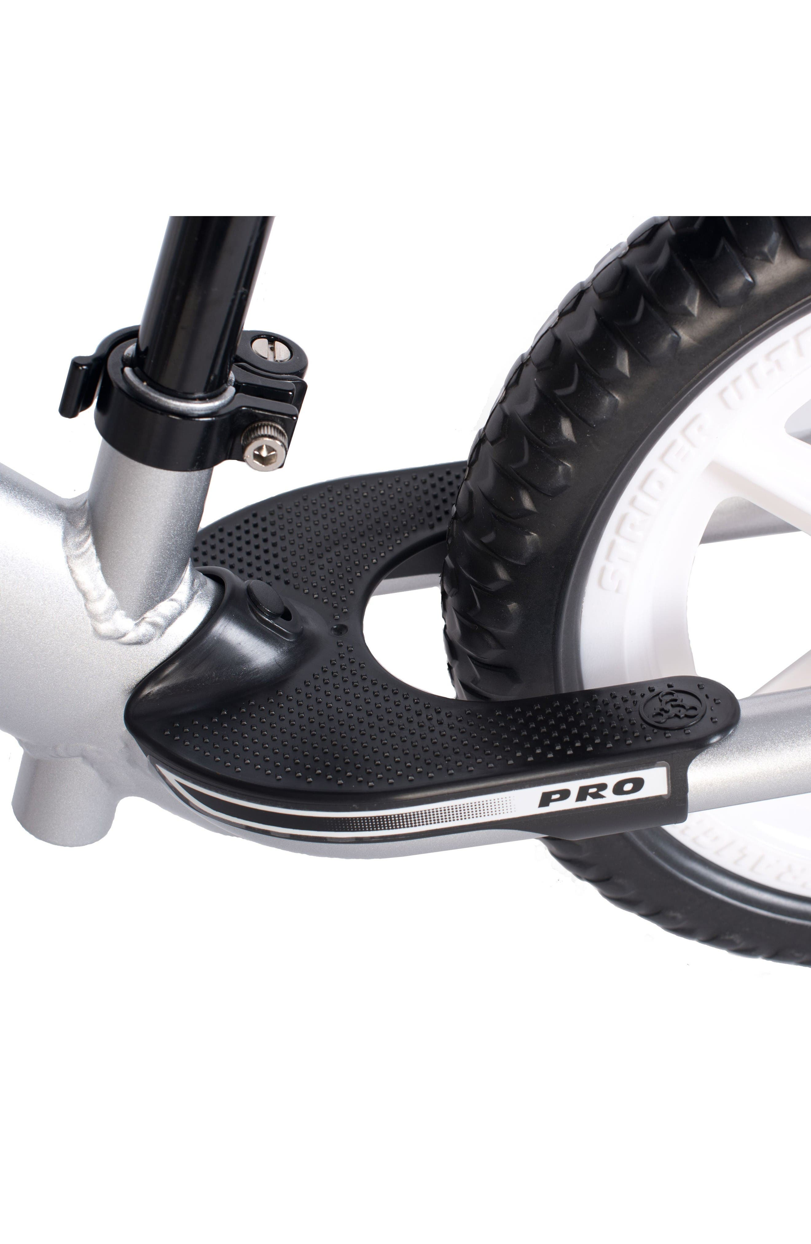 12 Pro Balance No Pedal Bike,                             Alternate thumbnail 4, color,                             Silver