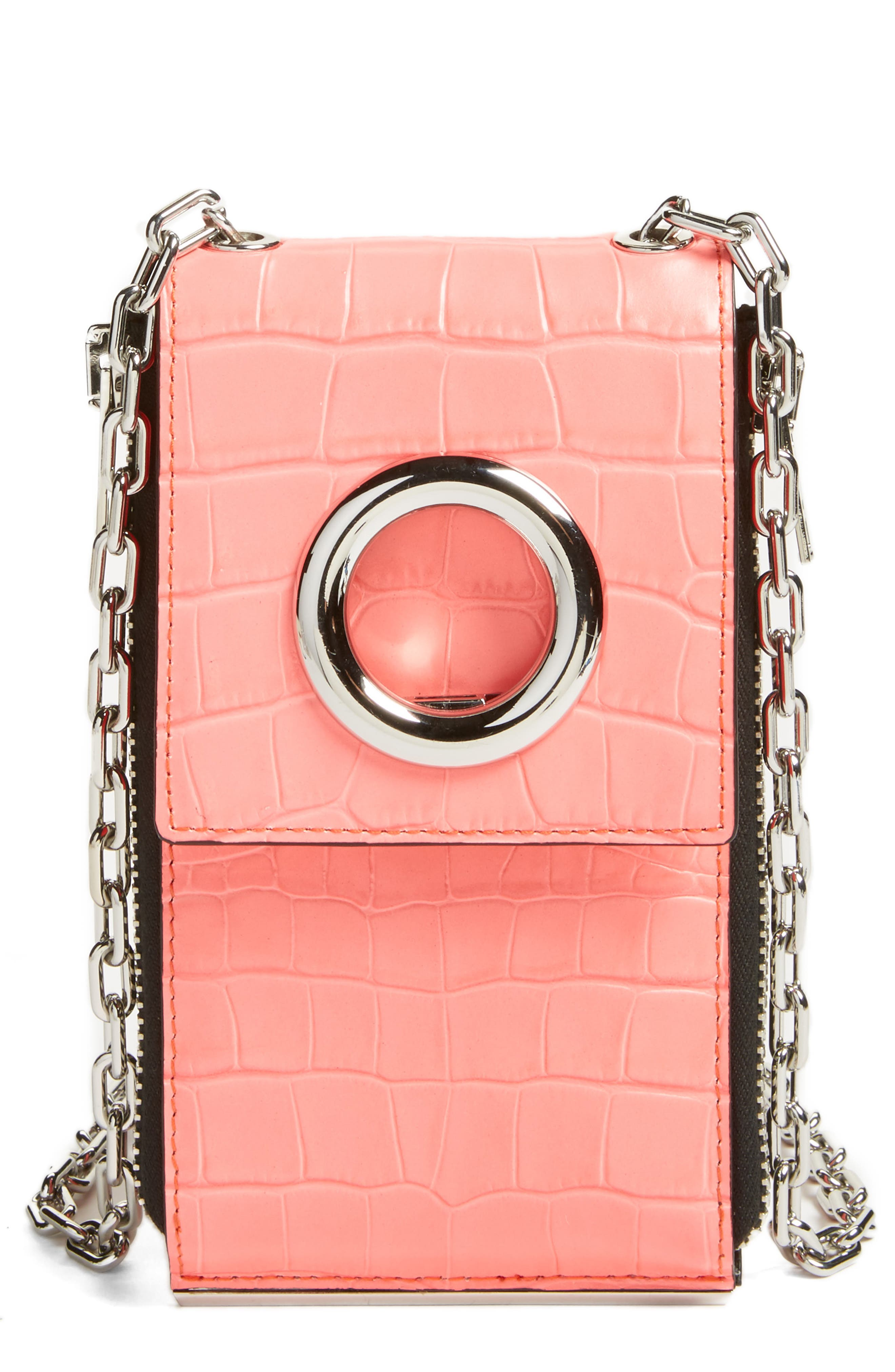 Alternate Image 1 Selected - Alexander Wang Riot Leather Wallet on a Chain