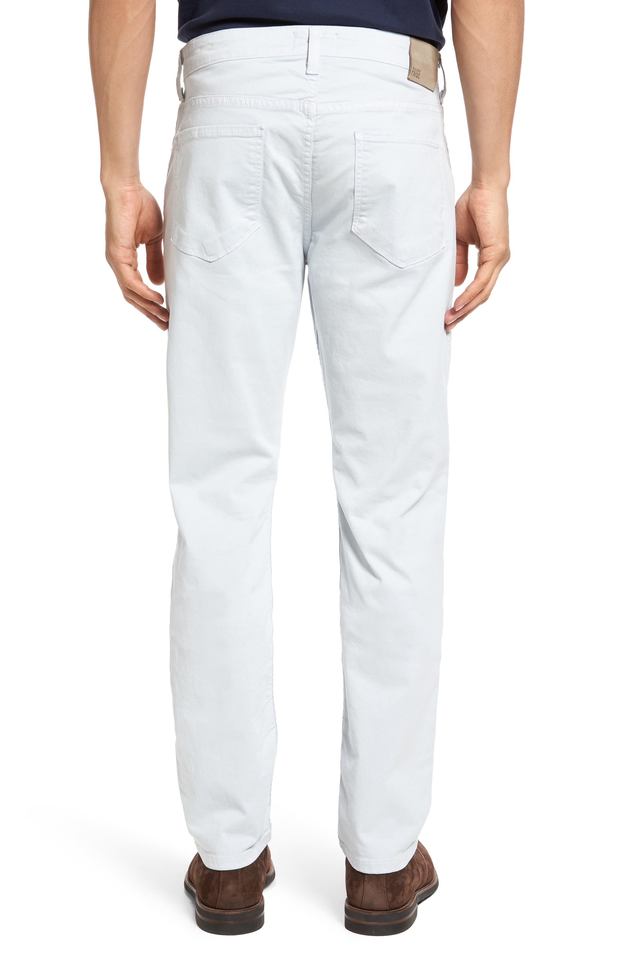 Alternate Image 2  - PAIGE 'Federal' Slim Straight Leg Twill Pants