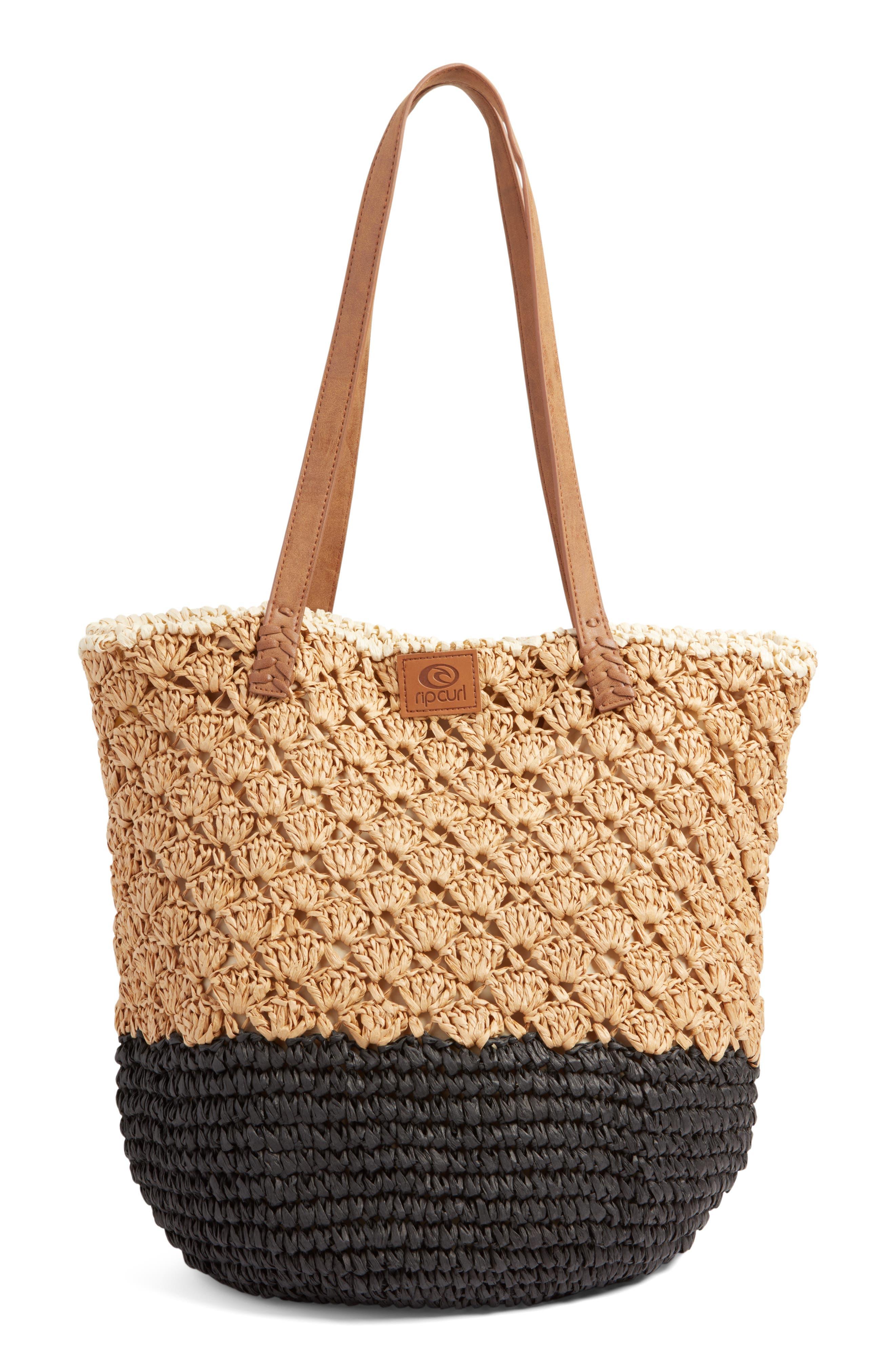 Beach Bag,                             Main thumbnail 1, color,                             Natural
