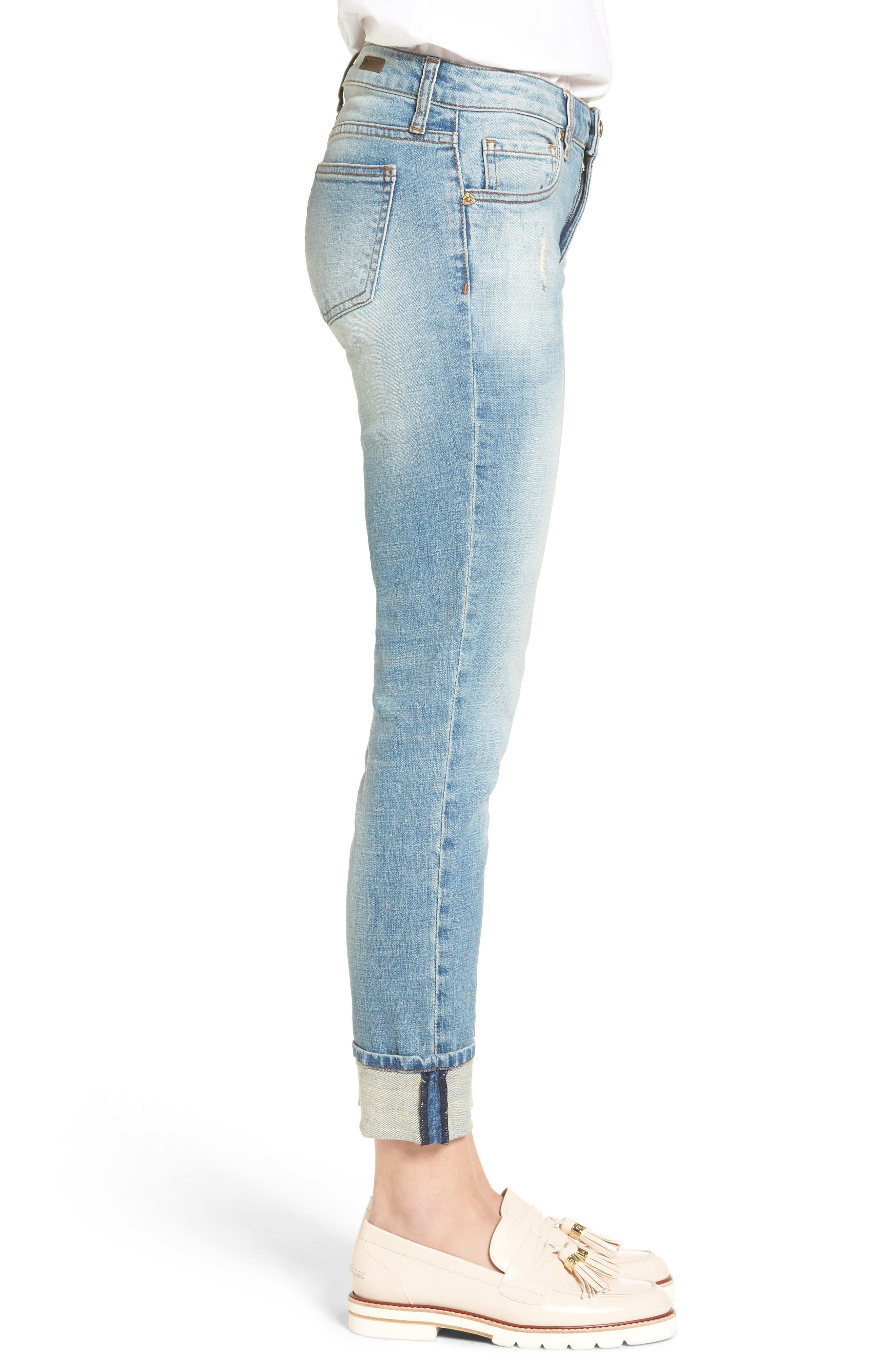 Alternate Image 3  - KUT from the Kloth Catherine Boyfriend Jeans (fromal)