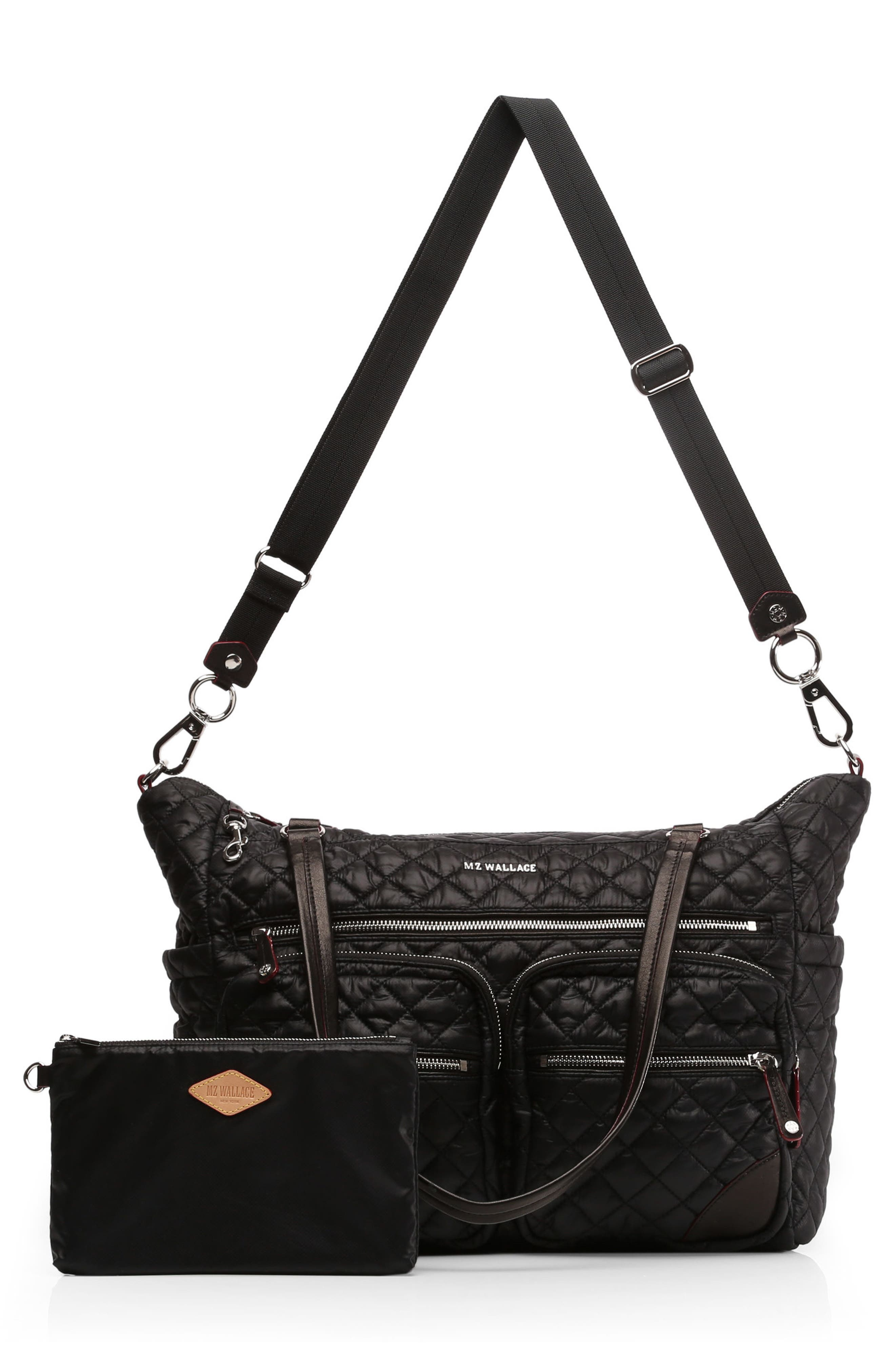 Alternate Image 7  - MZ Wallace Crosby Quilted Traveler Oxford Nylon Diaper Bag