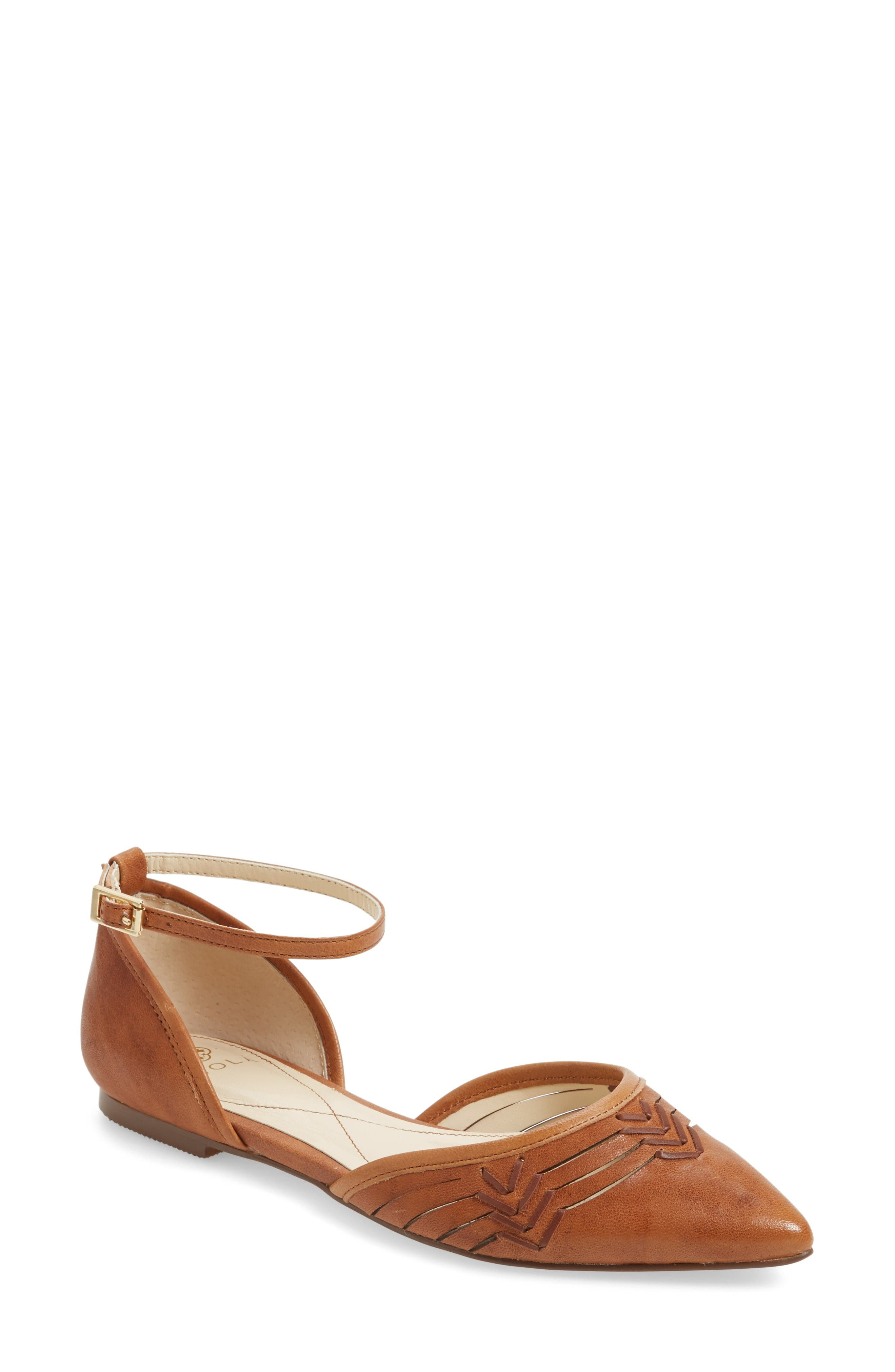 Isolá Cellino Ankle Strap Flat (Women)