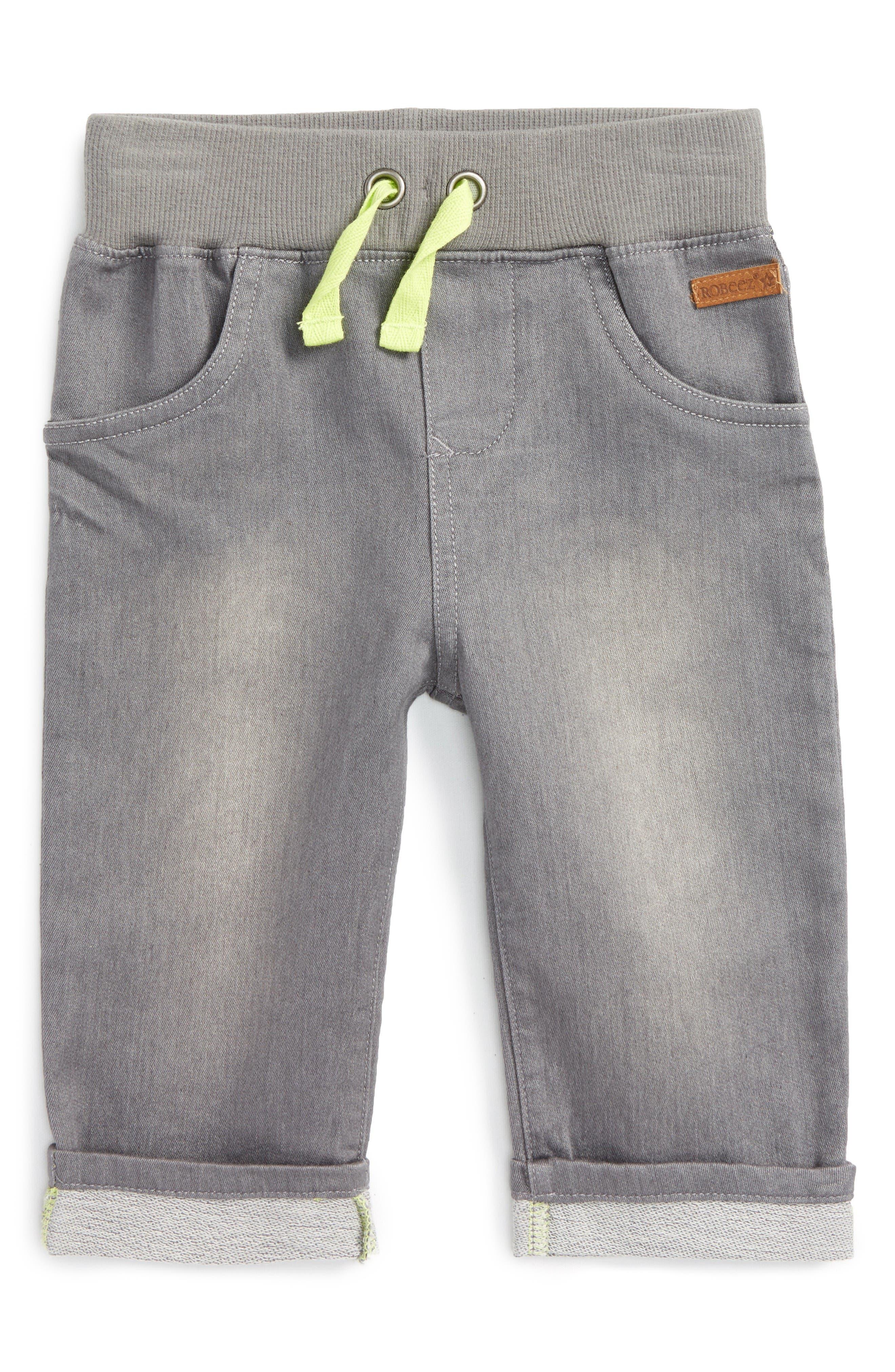 Drawstring Pants,                         Main,                         color, Grey