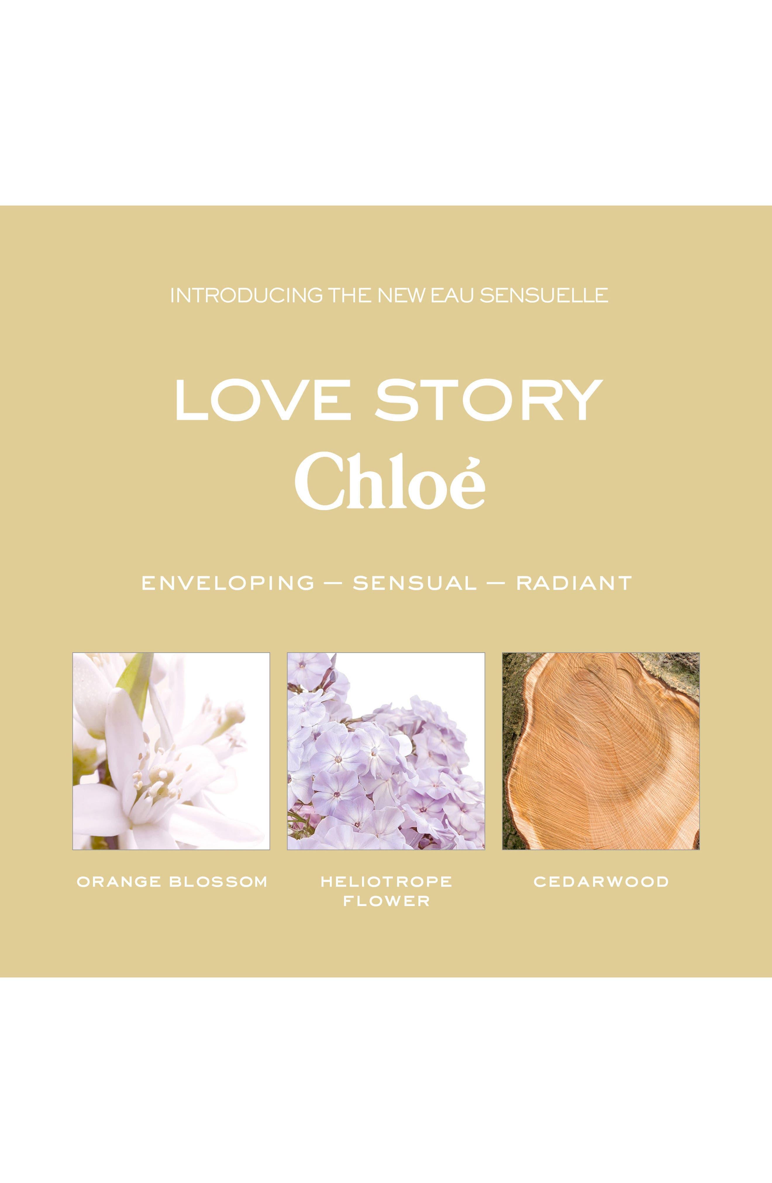 Love Story Eau Sensualle Eau de Parfum,                             Alternate thumbnail 3, color,                             No Color