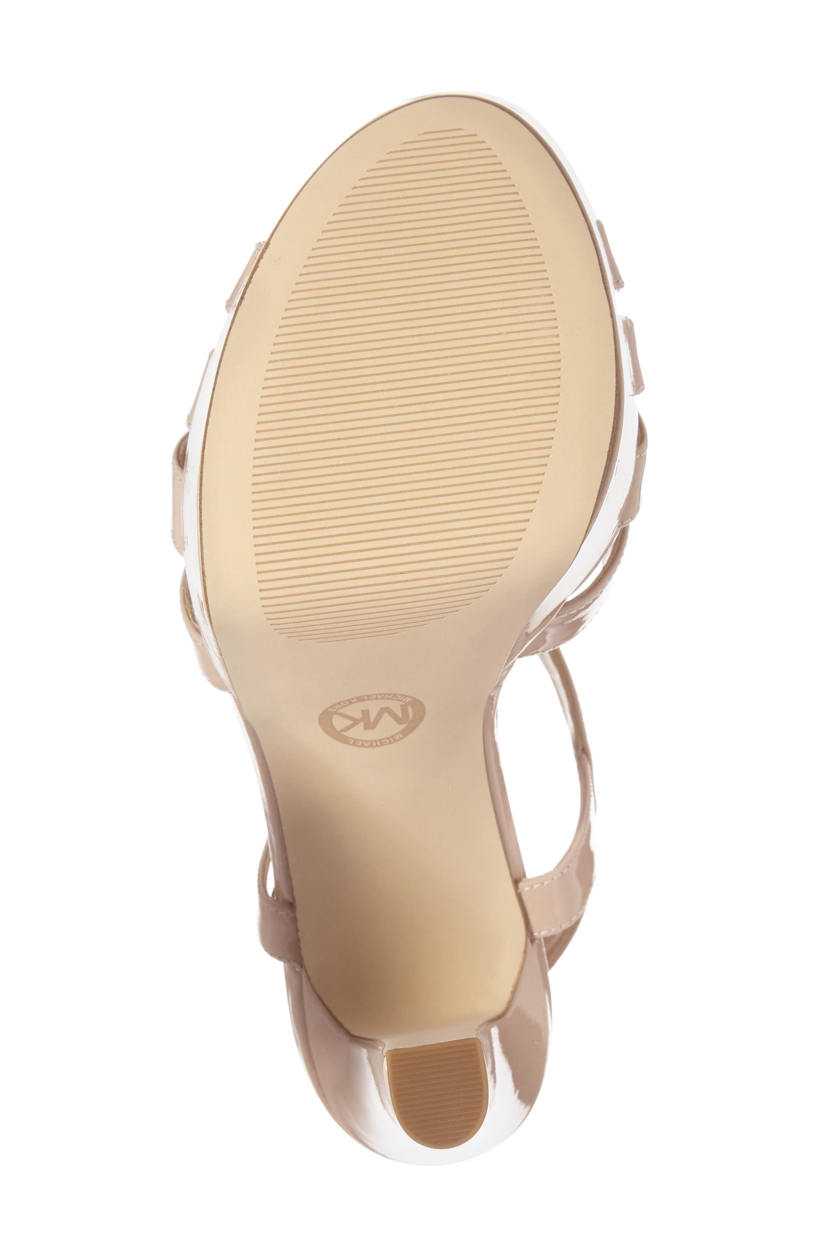 Alternate Image 4  - MICHAEL Michael Kors Catalina Platform Sandal (Women)