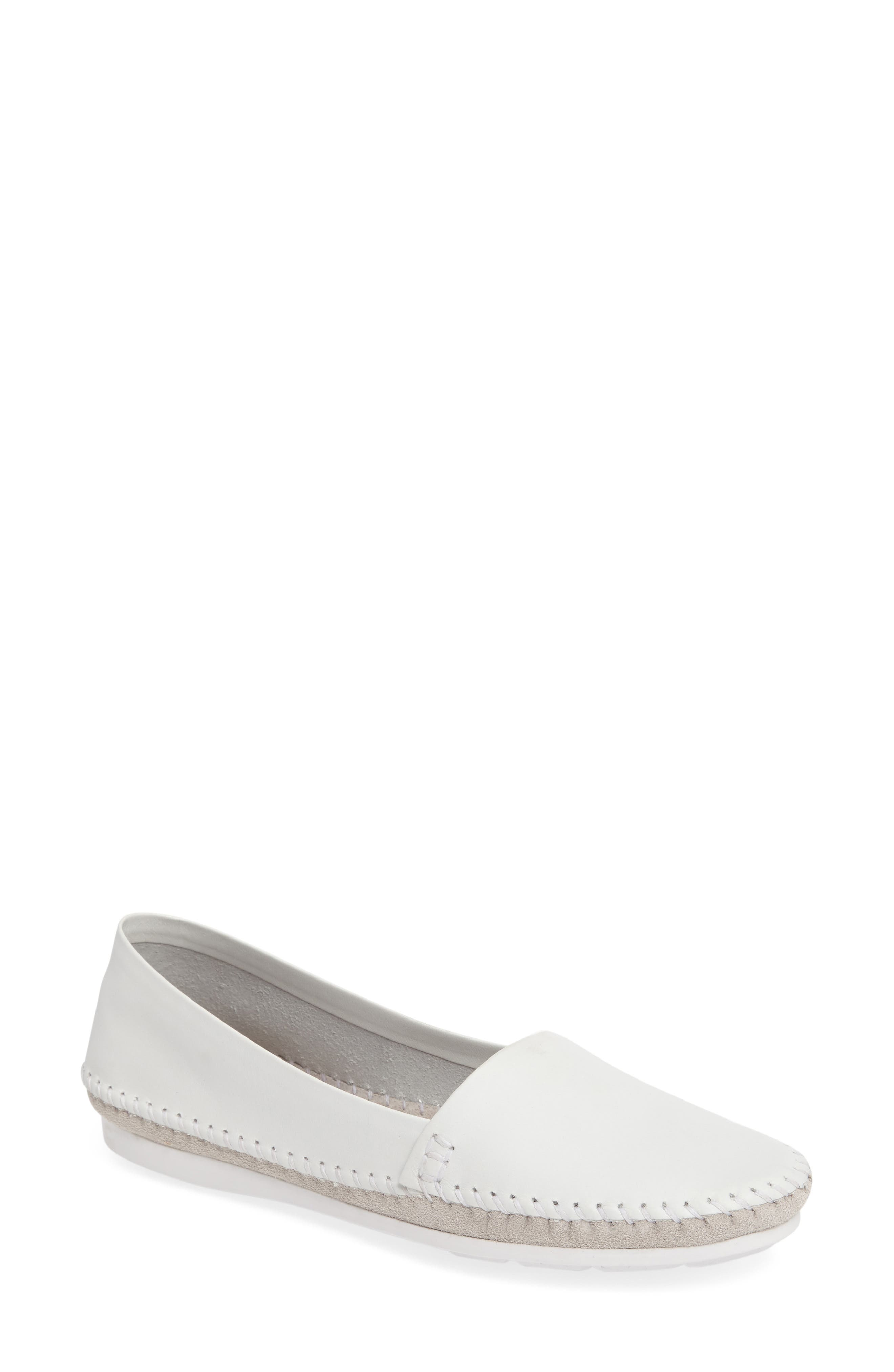 Star Flat,                         Main,                         color, Cloud Leather/ Suede