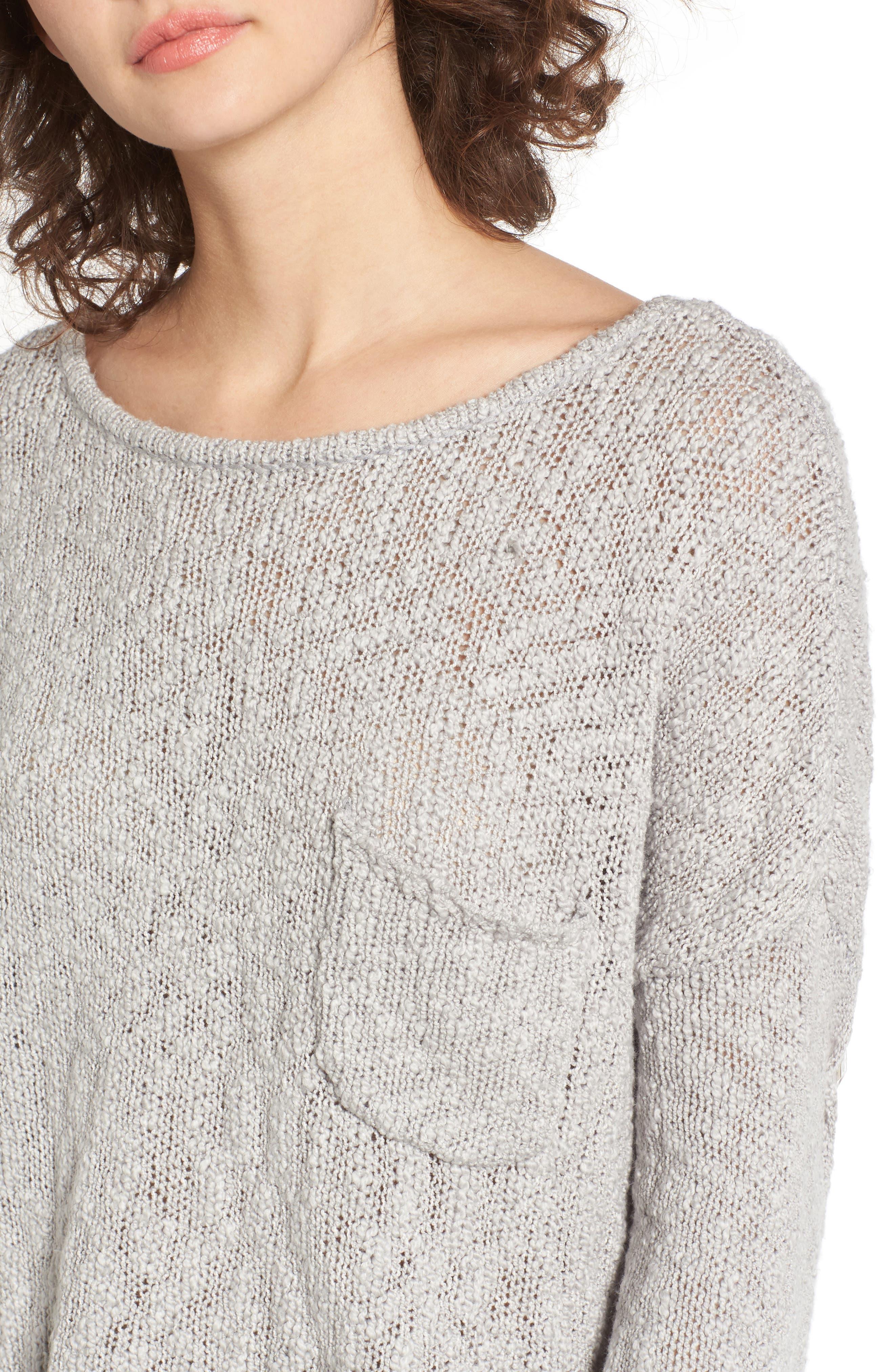 Alternate Image 4  - Roxy Don't Think Twice Sweater