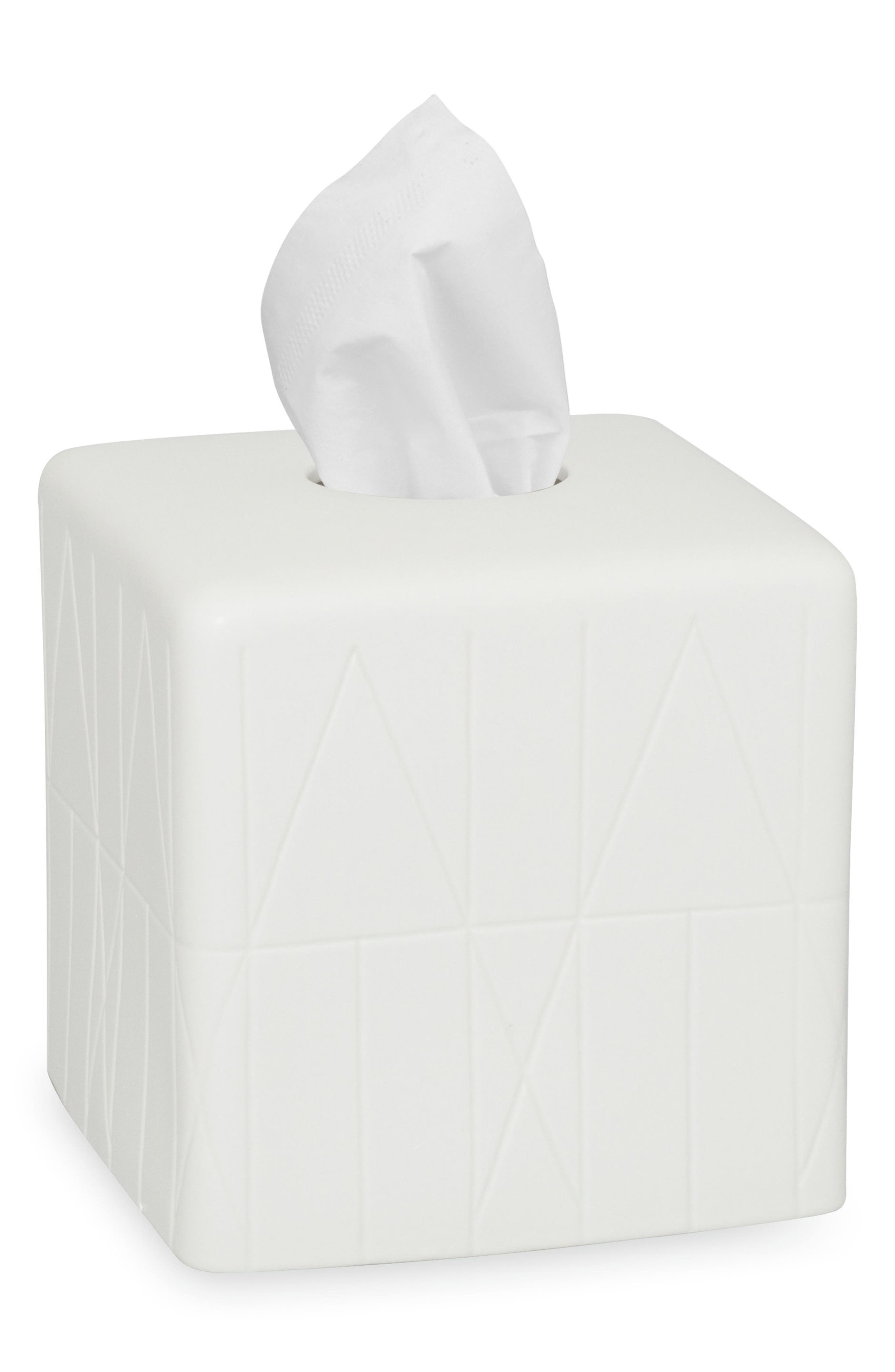DKNY Geometrix Tissue Box Cover