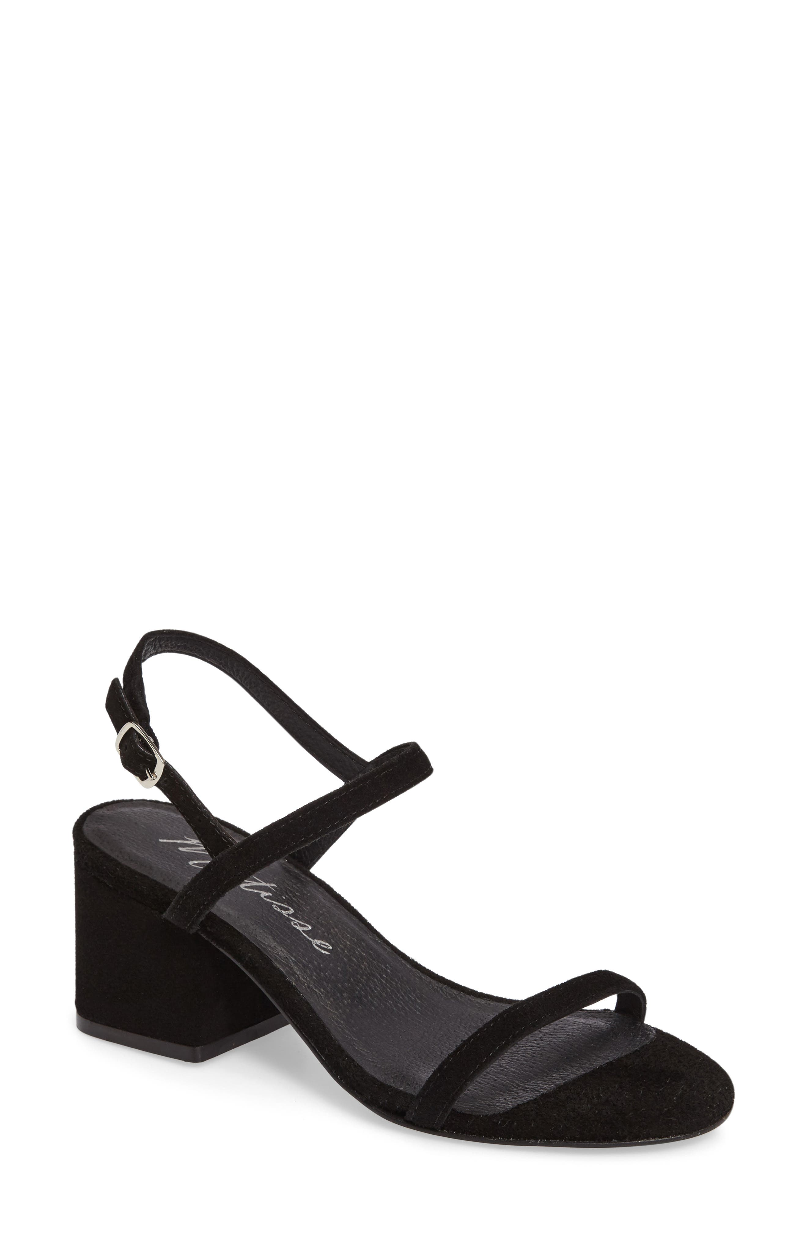 MATISSE Stella Block Heel Sandal