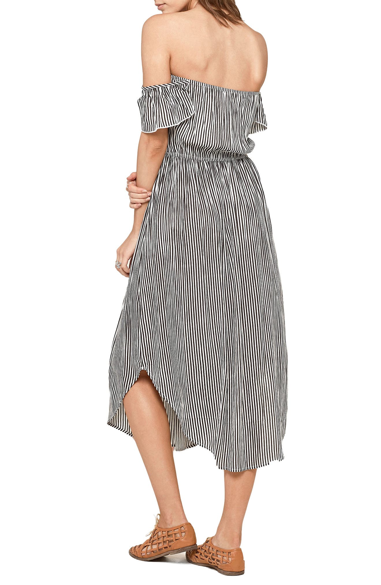 Alternate Image 2  - Amuse Society Off the Shoulder Midi Dress